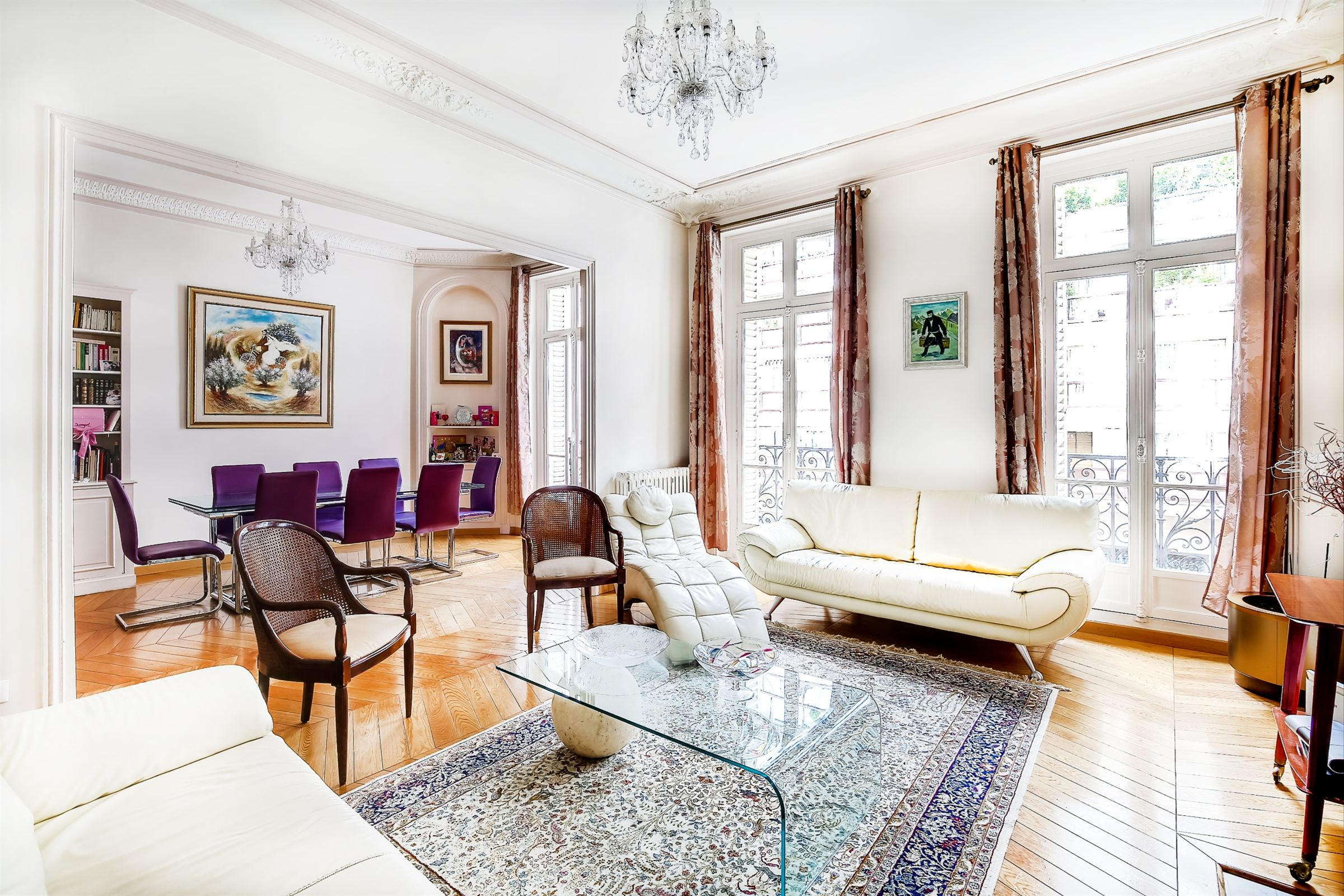 sales property at Apartment on the noble floor for sale in Paris 16th -