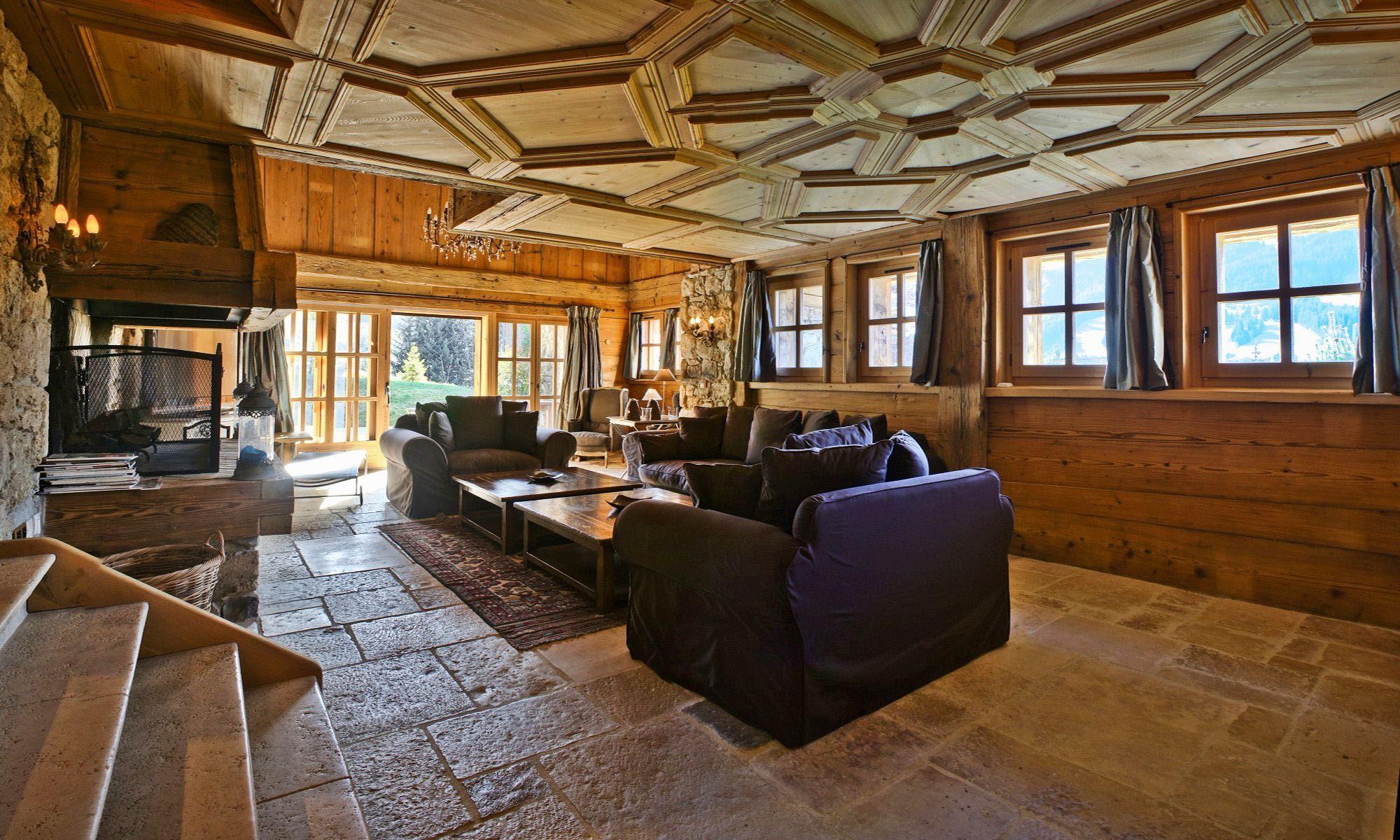 Property For Sale at Megève Mont d'Arbois Chalet Opale