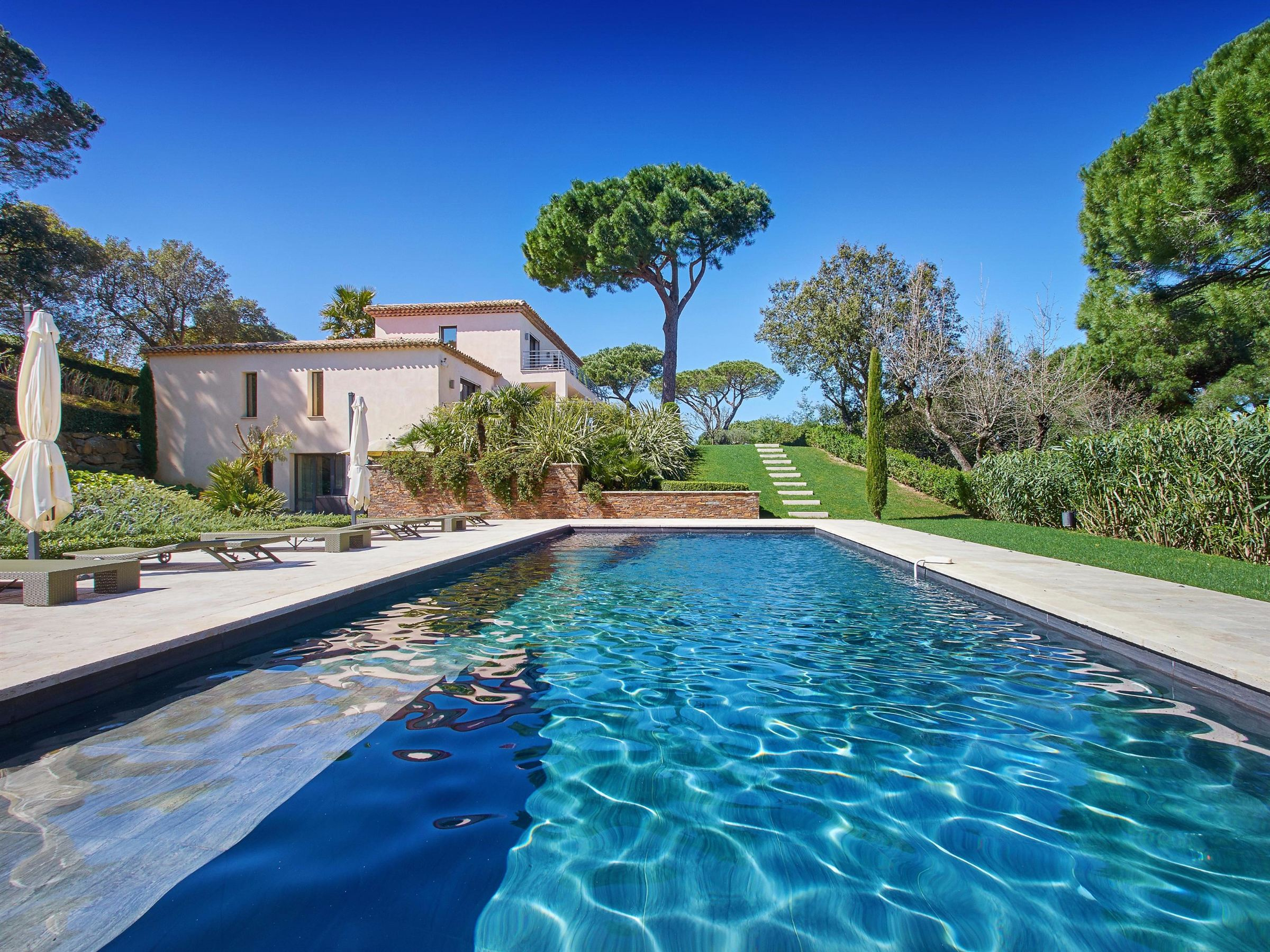 Single Family Home for Sale at Mediterranean estate in a sough after area of Saint-Tropez Other France, Other Areas In France, 83990 France