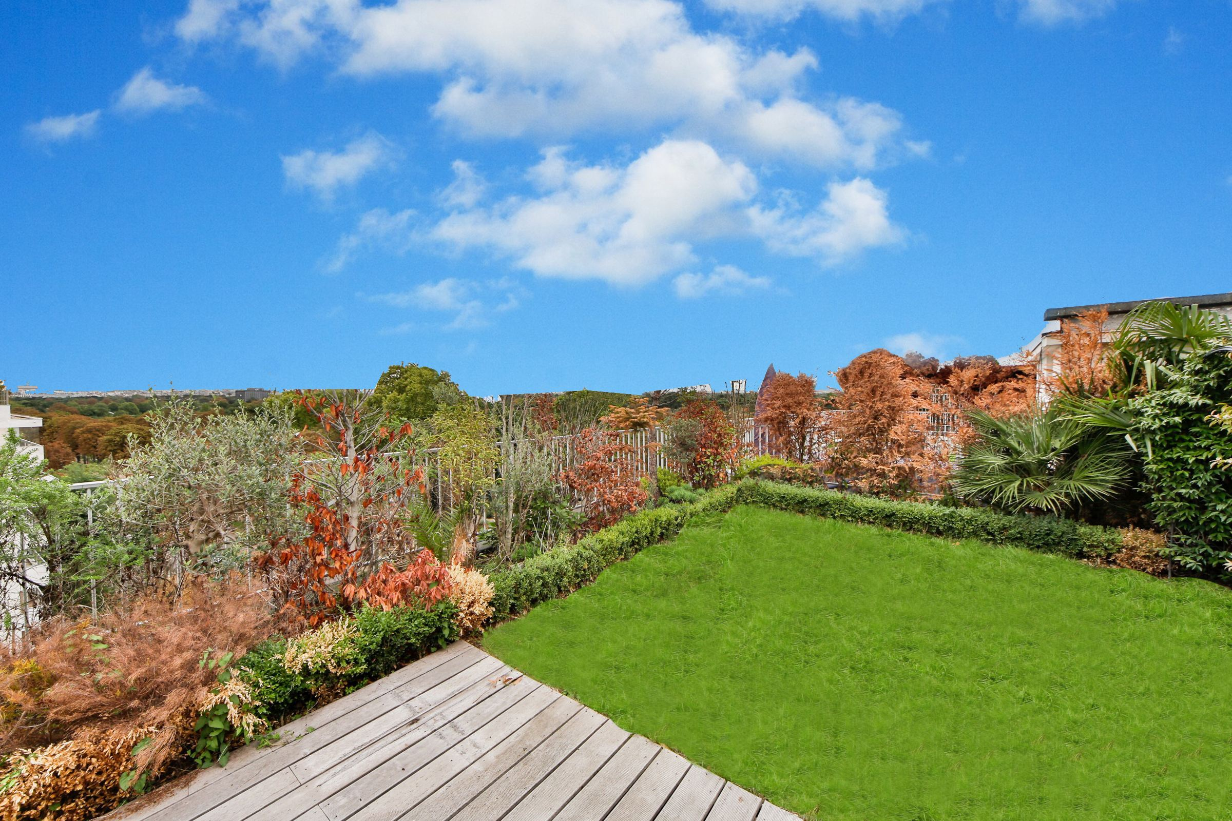 Property For Sale at Neuilly - Bois. A 133 sq.m Penthouse + a 125 sq.m terrace.
