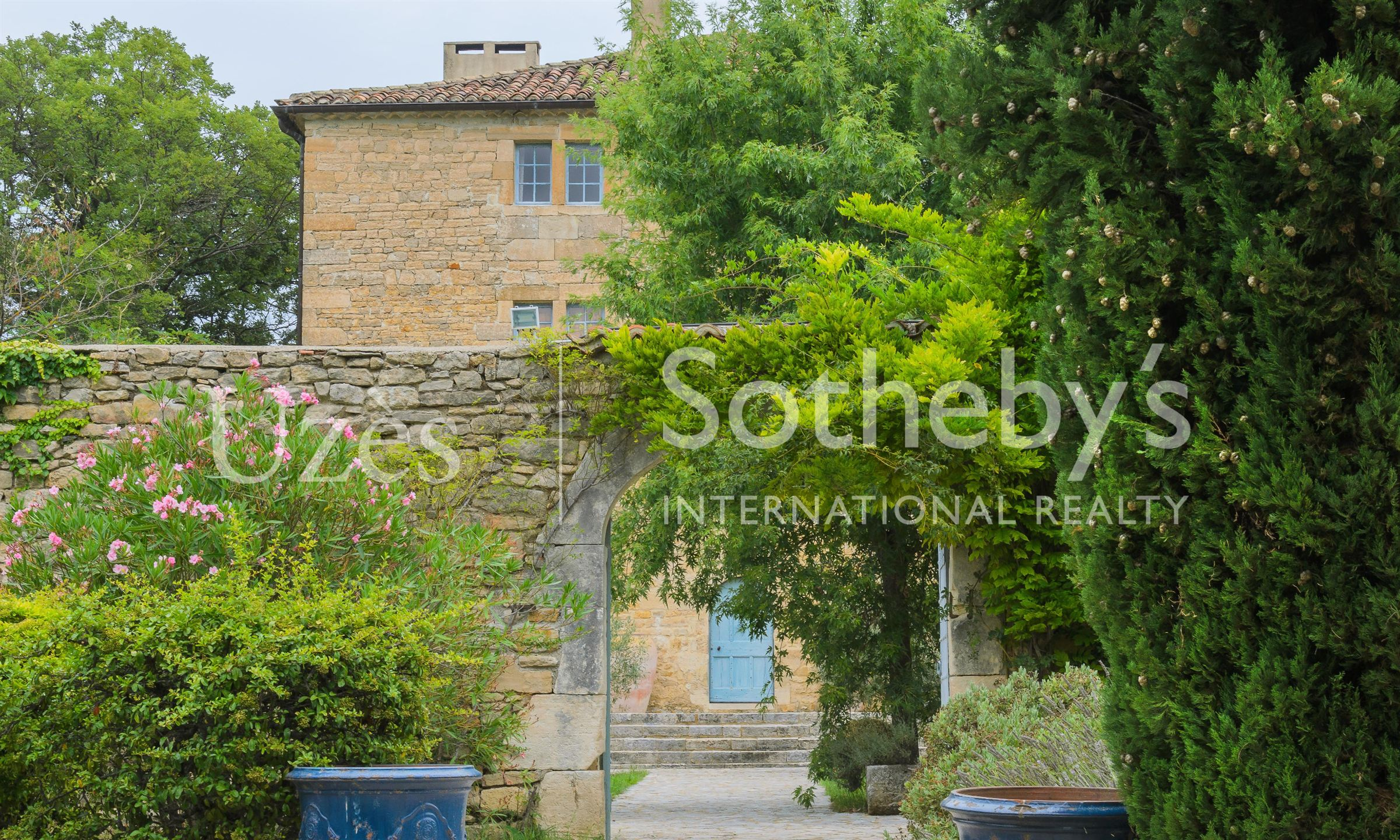 sales property at BARJAC, CHARMING RENAISSANCE CASTLE