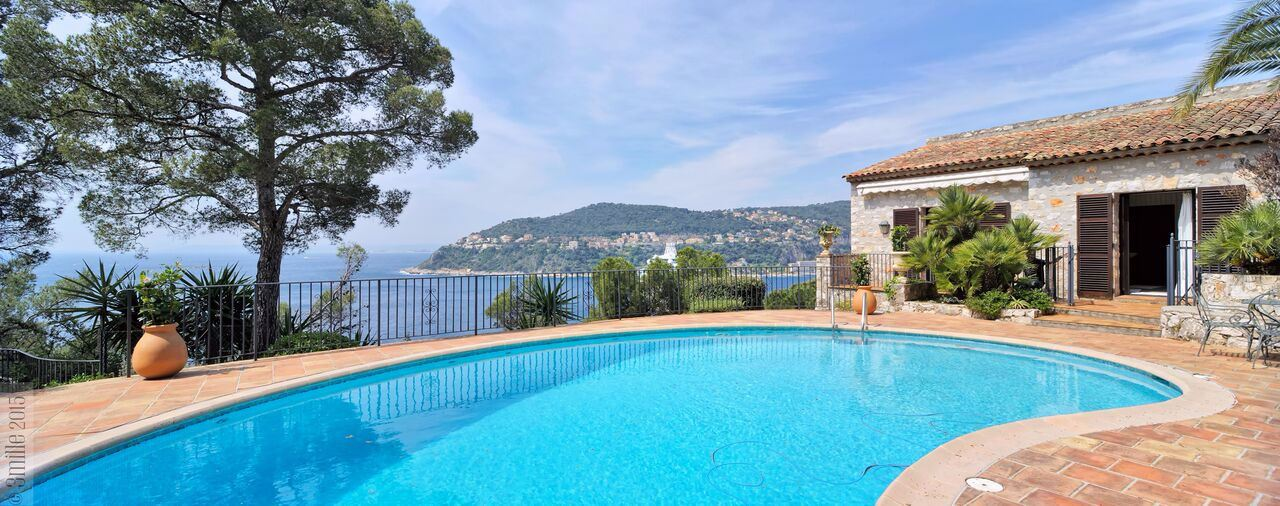 rentals property at Waterfront villa with stunning views in St Jean Cap Ferrat