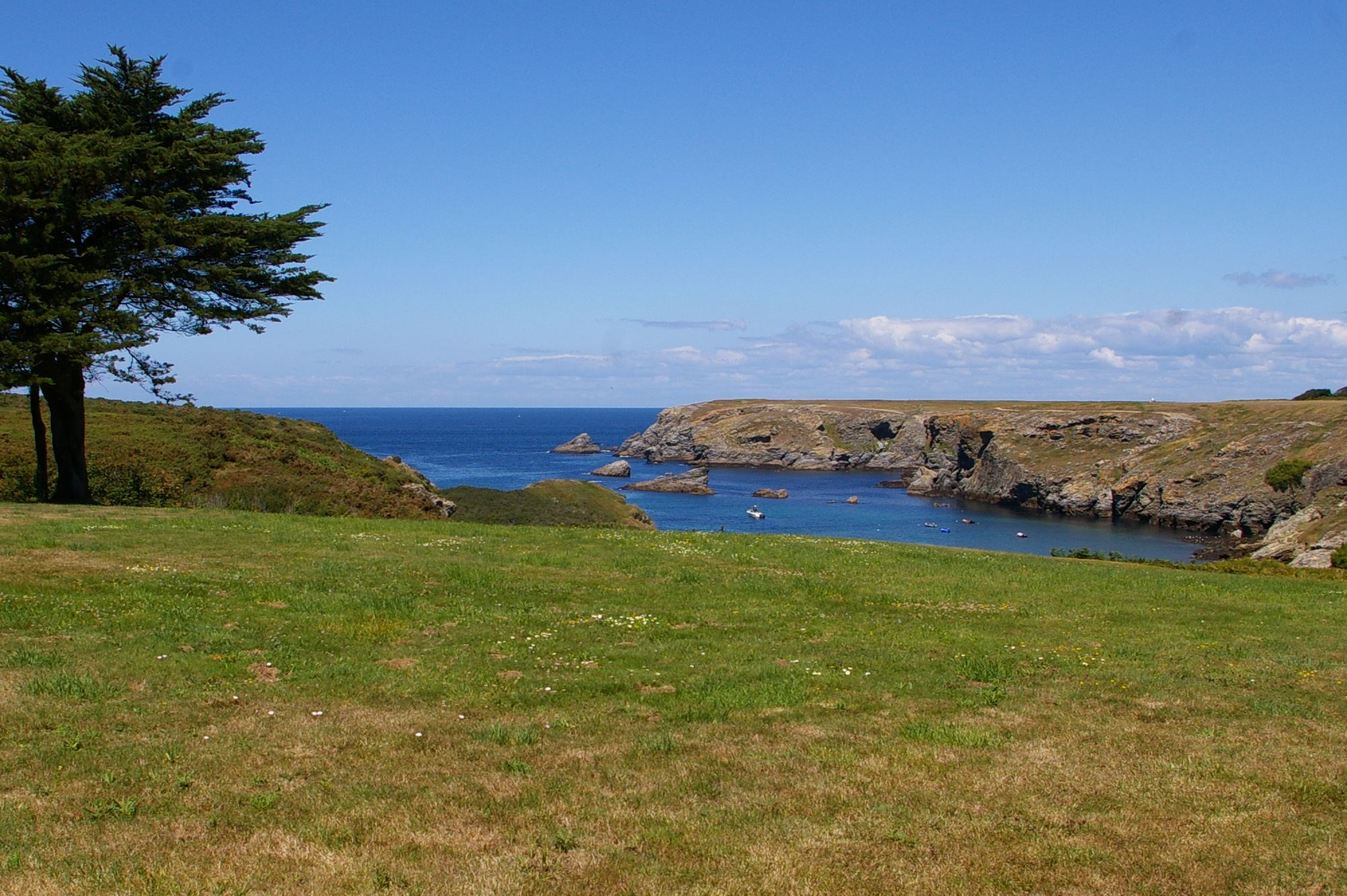 sales property at Belle-Ile, South Brittany, full sea view and charm...
