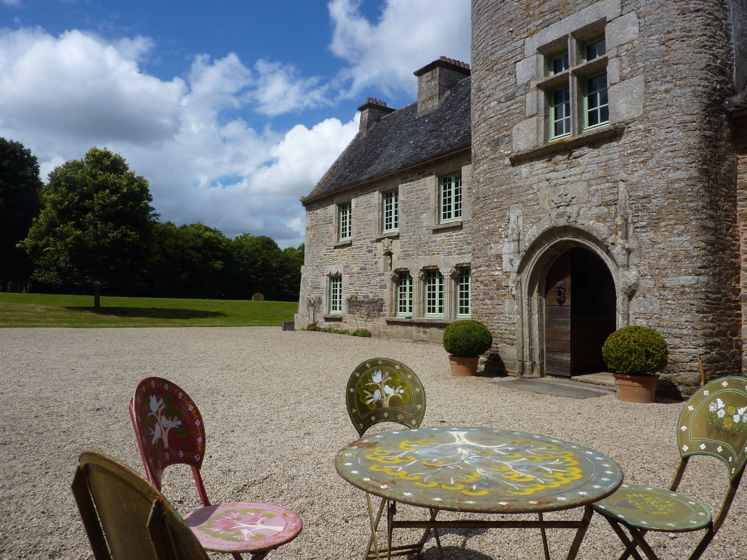Property For Sale at Manor with 3 additional houses set on 155 acres near Morlaix