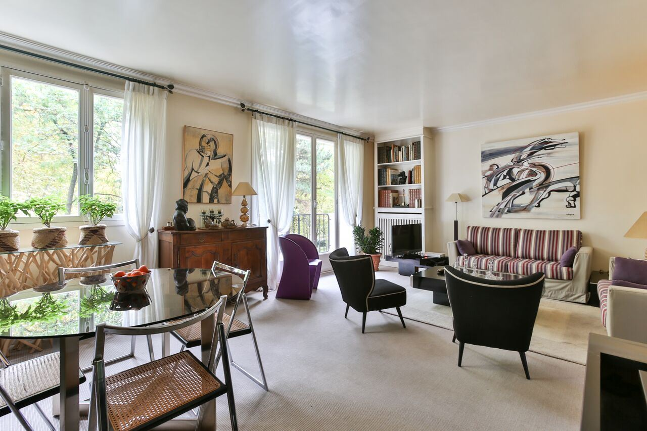 Property For Sale at Neuilly - Saussaye - family apartment with a balcony.