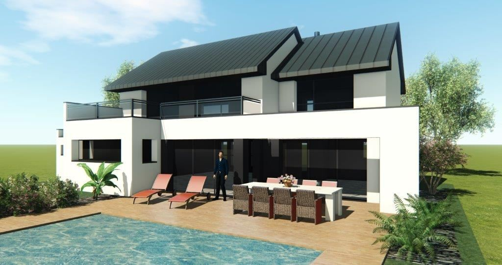 sales property at GUIDEL, sea view, new project