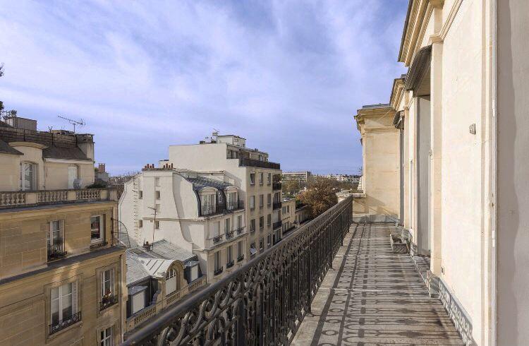 sales property at On sale Superb duplex on top floors Paris 16 OCDE