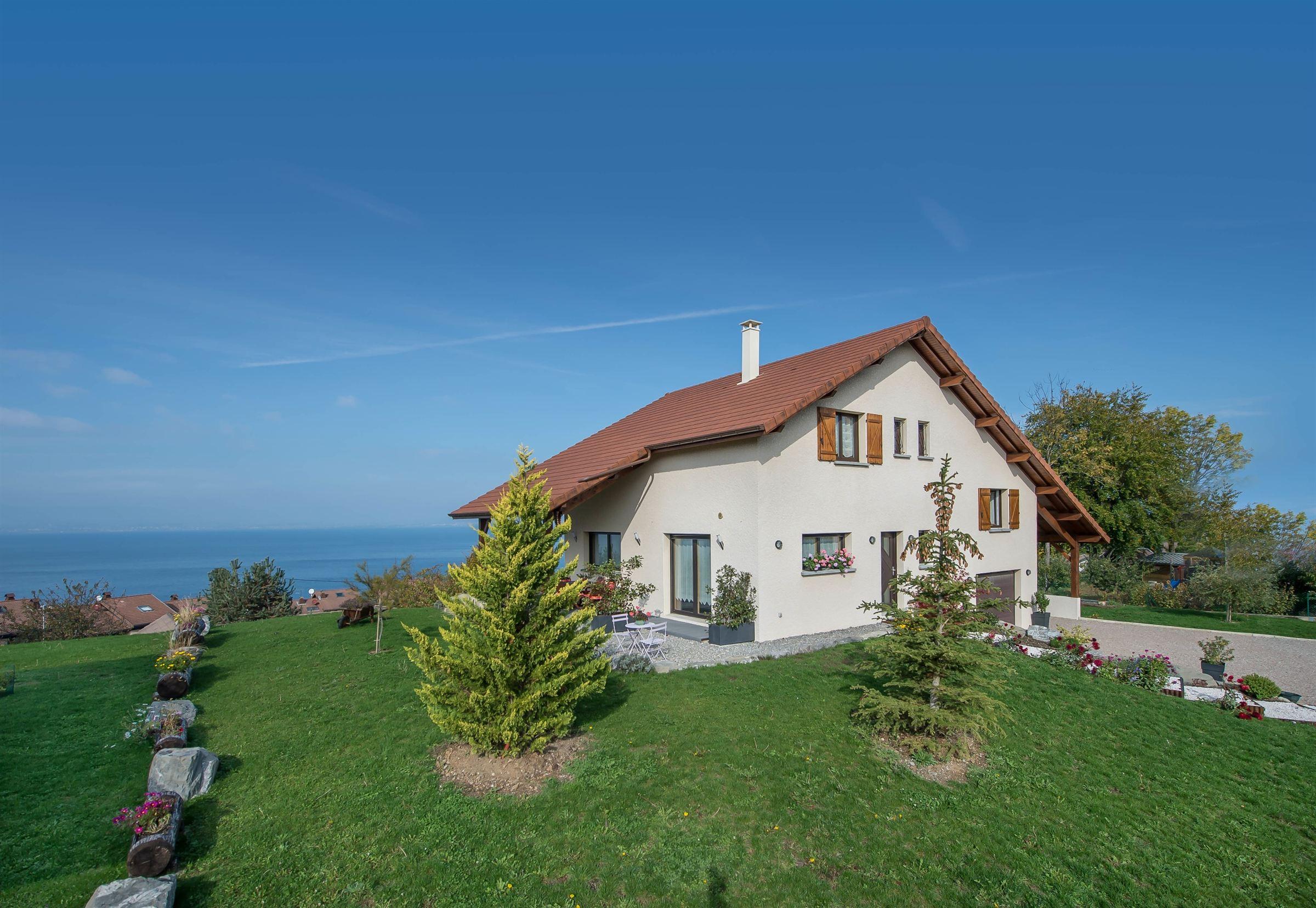 Single Family Home for Sale at VILLA NEUVE VUE PANORAMIQUE Publier, Rhone-Alpes 74500 France