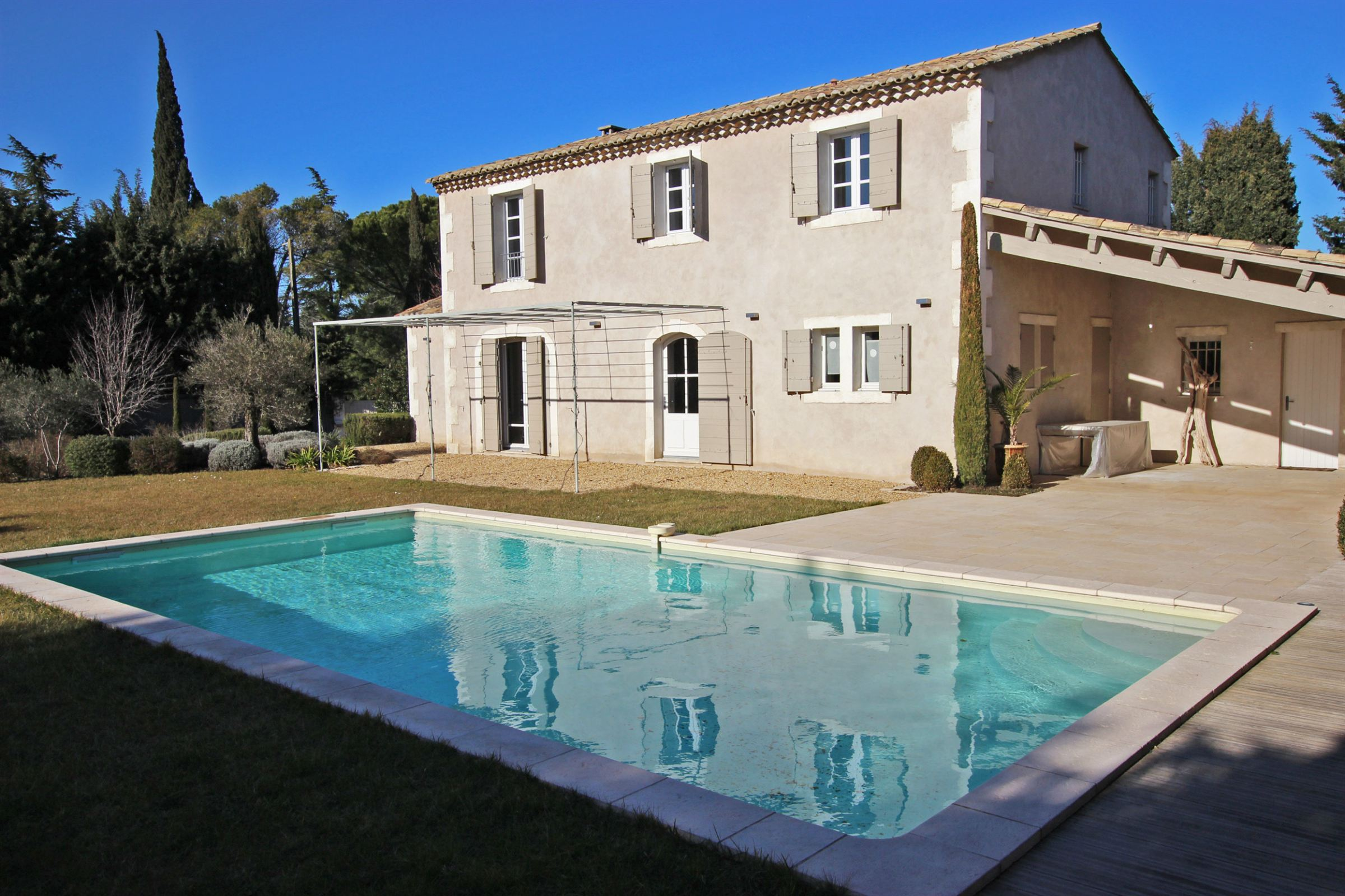 "Property For Sale at Contemporary ""bastide"" in Eyragues, 5 min from St Remy de Provence"