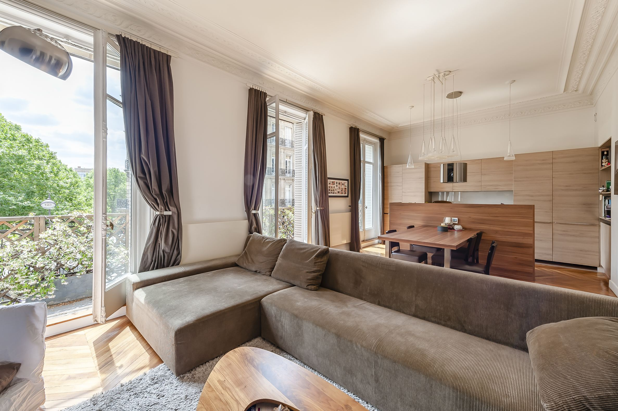 sales property at Charming apartment with balcony near Champs-Elysées