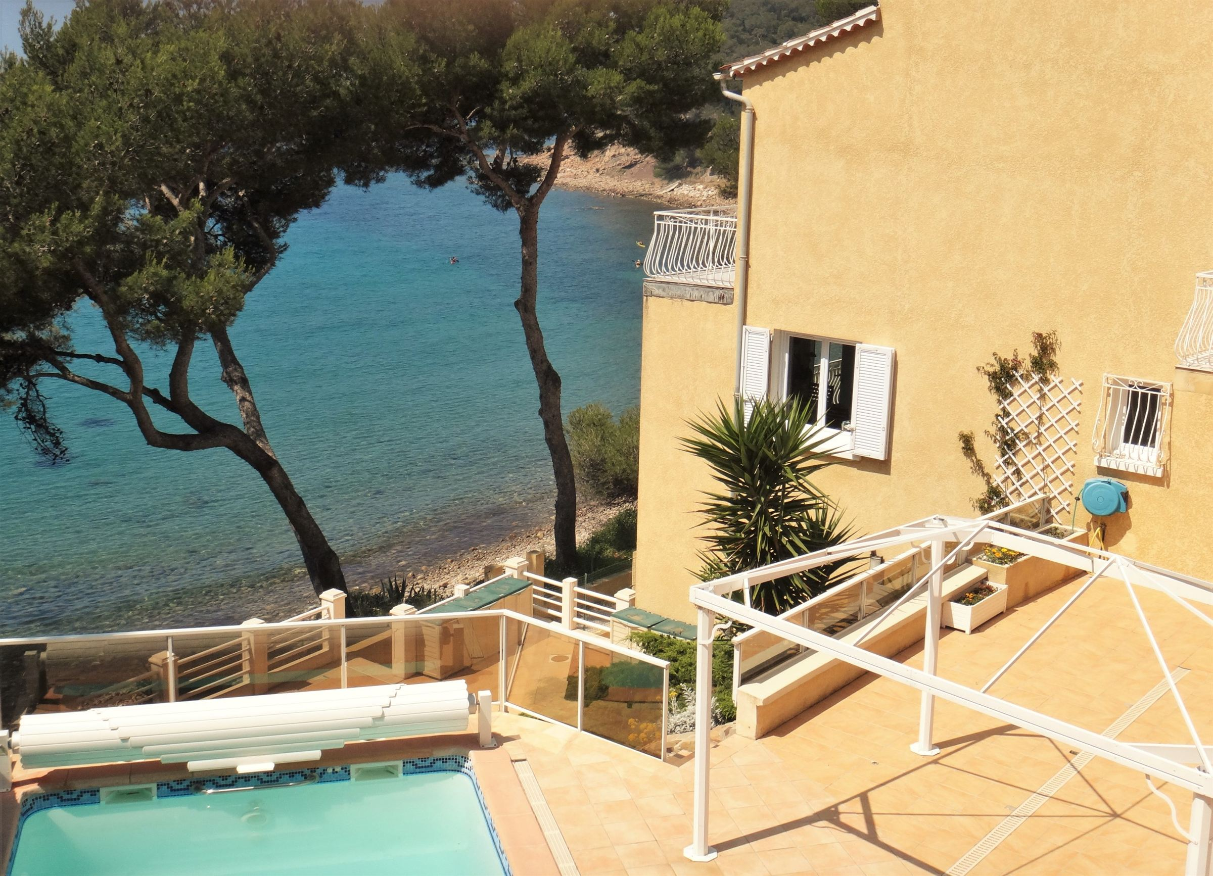 sales property at Waterfront with Private sea access