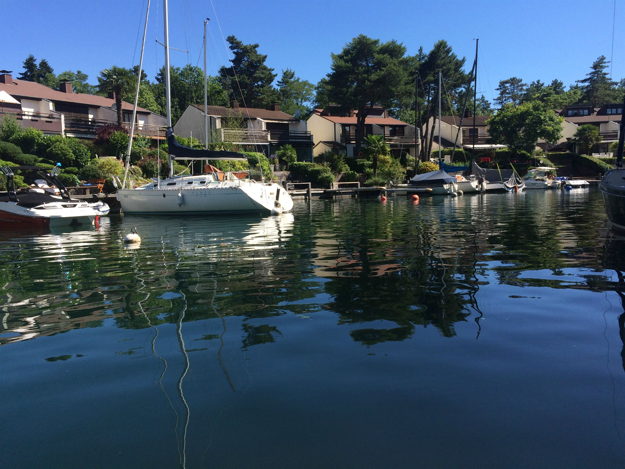 Single Family Home for Sale at PORT RIPAILLE NEAR EVIAN VILLA WATERFRONT LAKE Thonon Les Bains, Haute Savoie 74200 France