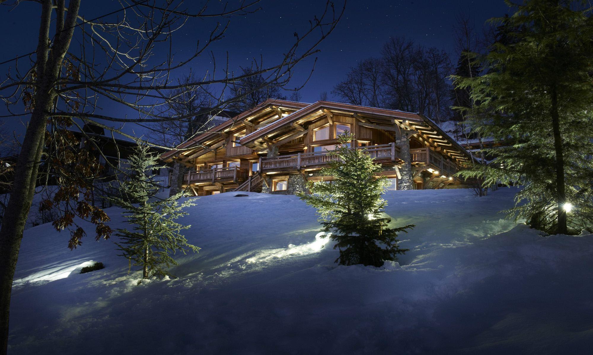 Single Family Home for Sale at Megève Mont d'Arbois Luxury Chalet Soleil d'Or Megeve, Rhone-Alpes 74120 France