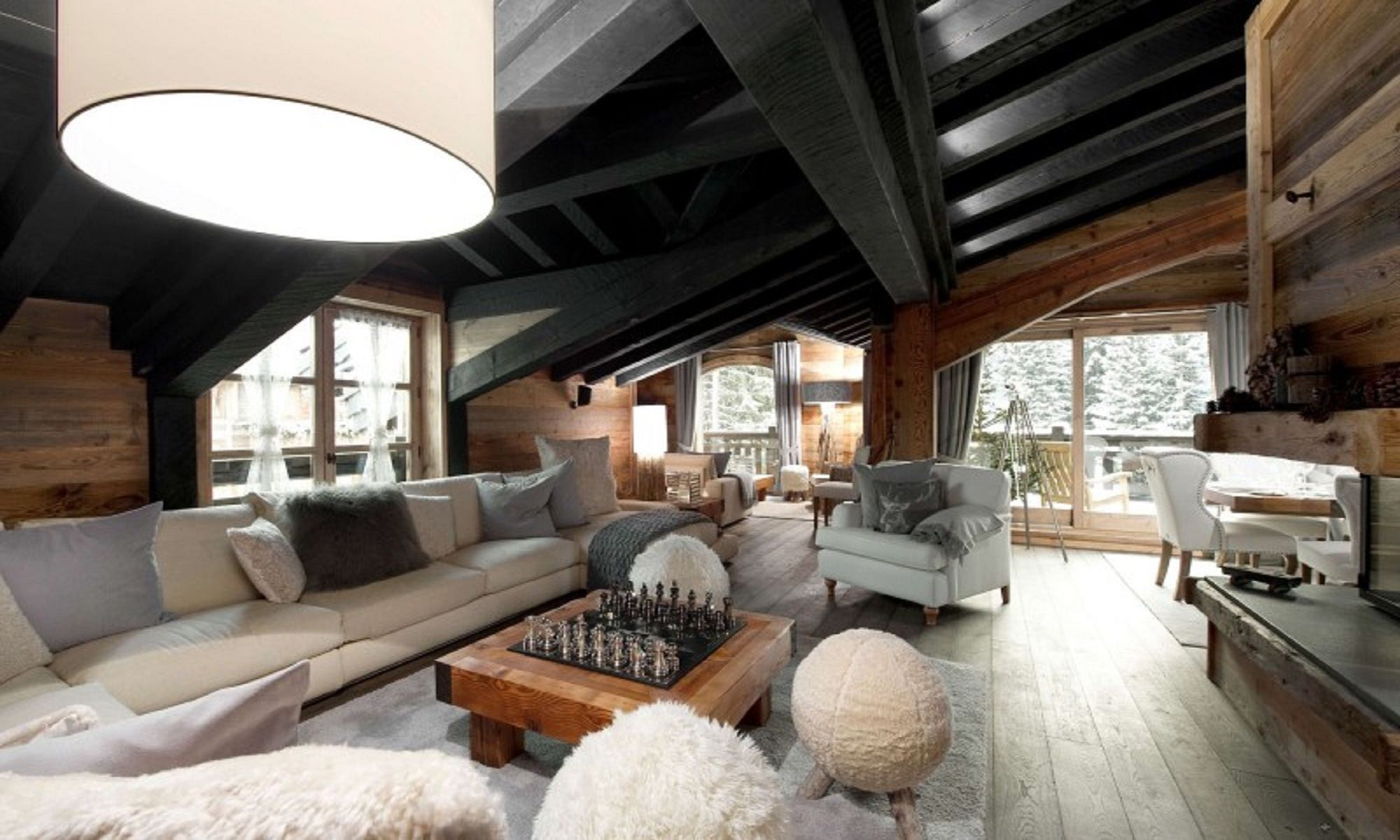 Property Of Luxury Chalet in Courchevel 1850 Petit Chateau