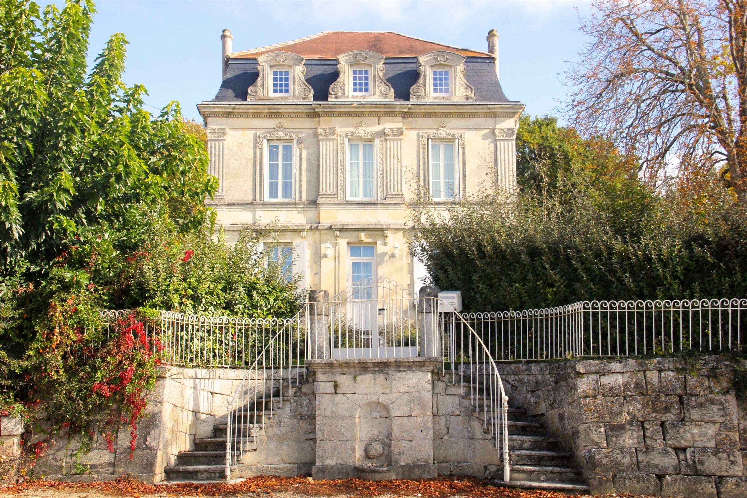Single Family Home for Sale at BORDEAUX - FRONSAC - ELEGANT HISTORIC MASTER HOUSE Bordeaux, Aquitaine, 33000 France