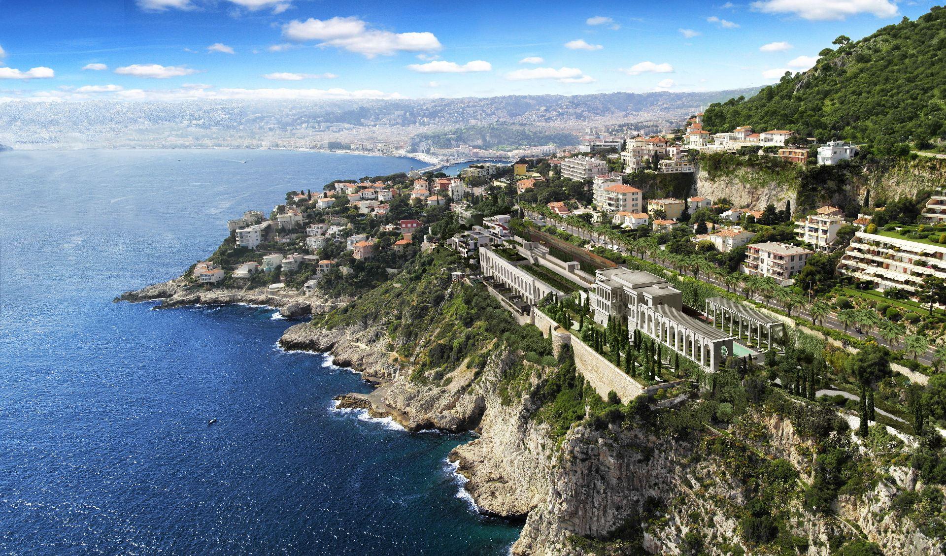 Property for Sale at For sale - Private estate facing the sea - Cap de Nice - Palais Maeterlinck Nice, Provence-Alpes-Cote D'Azur 06300 France