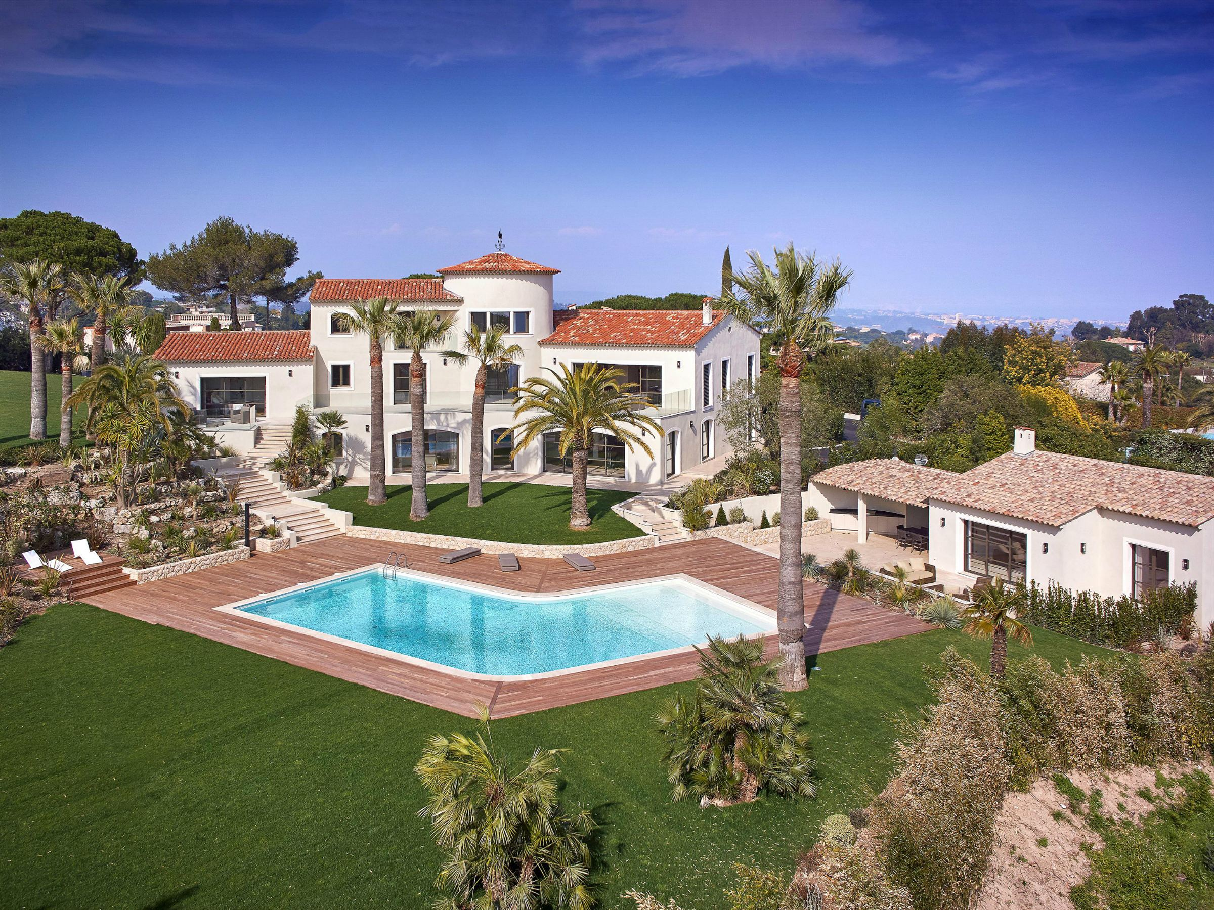 Property For Sale at New villa with views over the sea and the Lérins Islands
