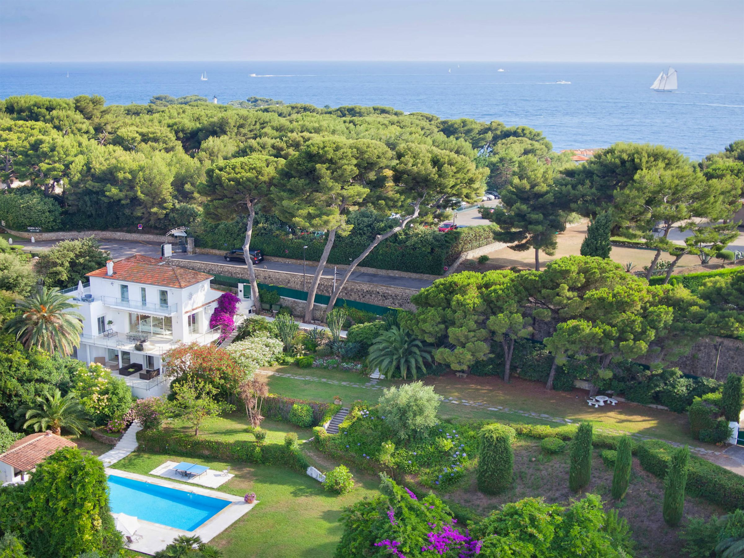 Property For Sale at For Sale – Beautiful villa Cap d'Antibes with sea views