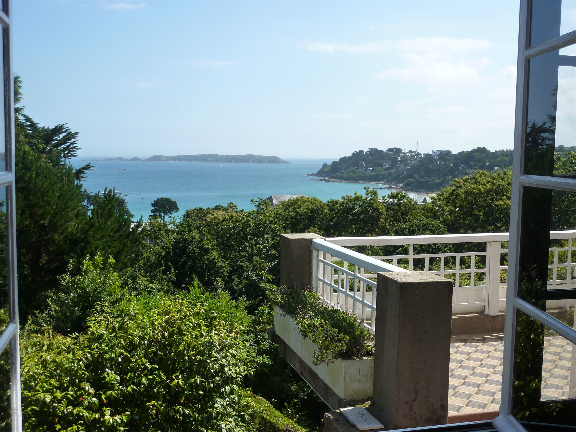 Property For Sale at Perros Guirec Villa with sea view 400m from the beach