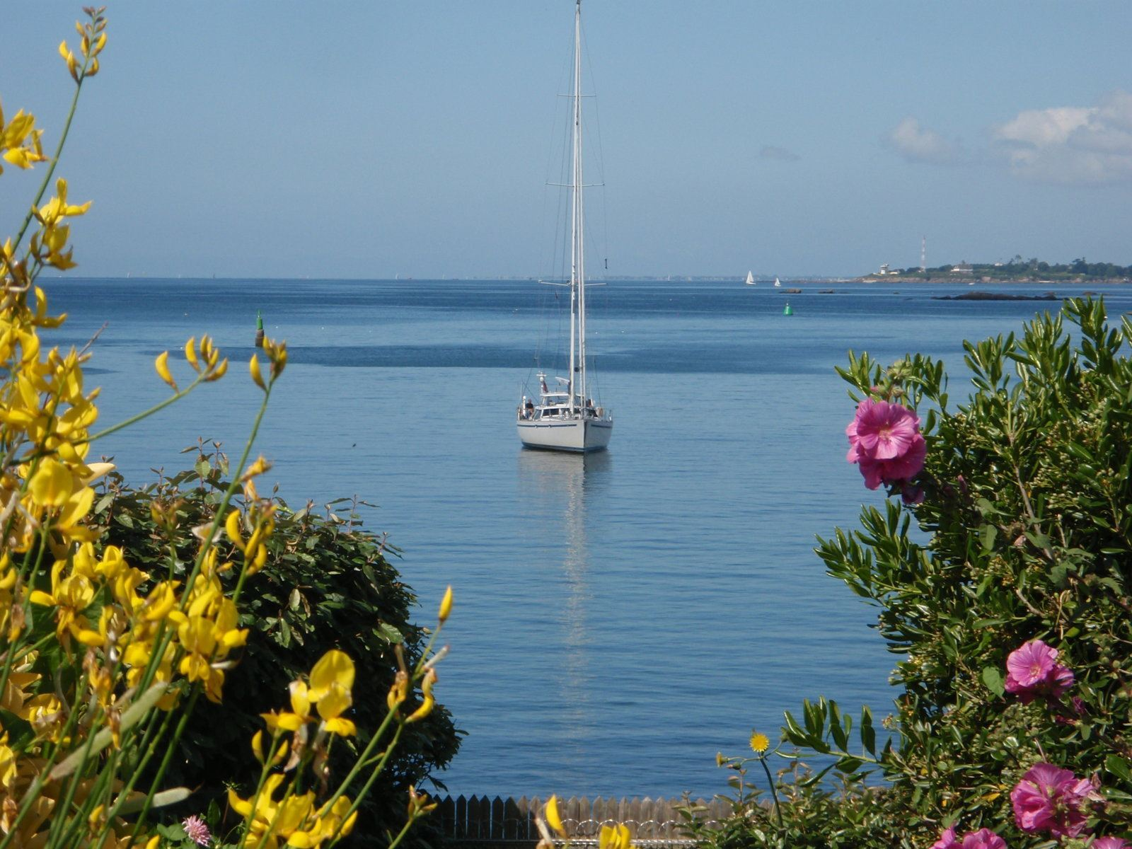 sales property at Concarneau. Property with seaview and swimmong pool.