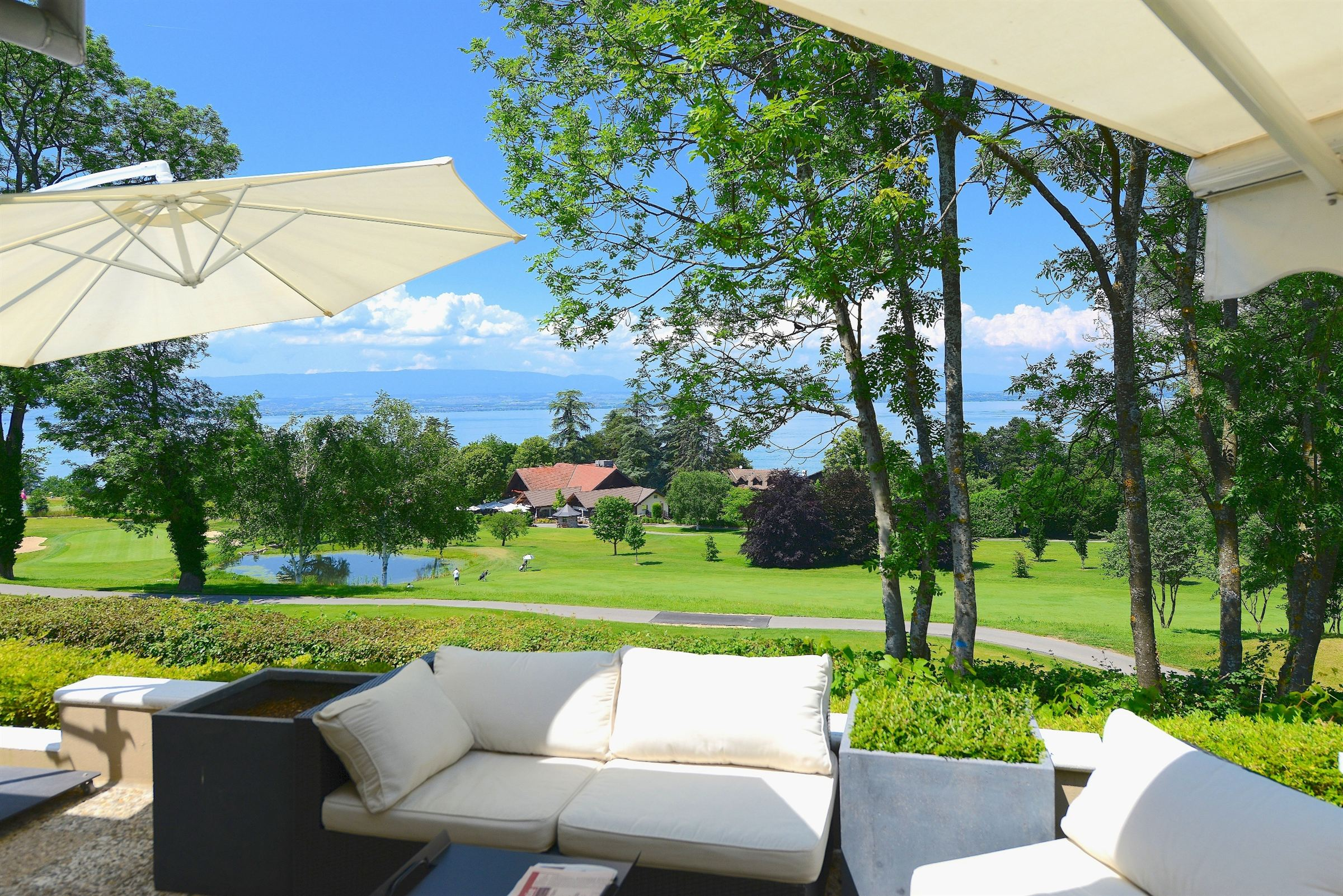 Property For Sale at AT THE HEART OF THE GOLF, RESIDENTIAL SET OF AN EXCEPTIONAL APARTMENT VILLA