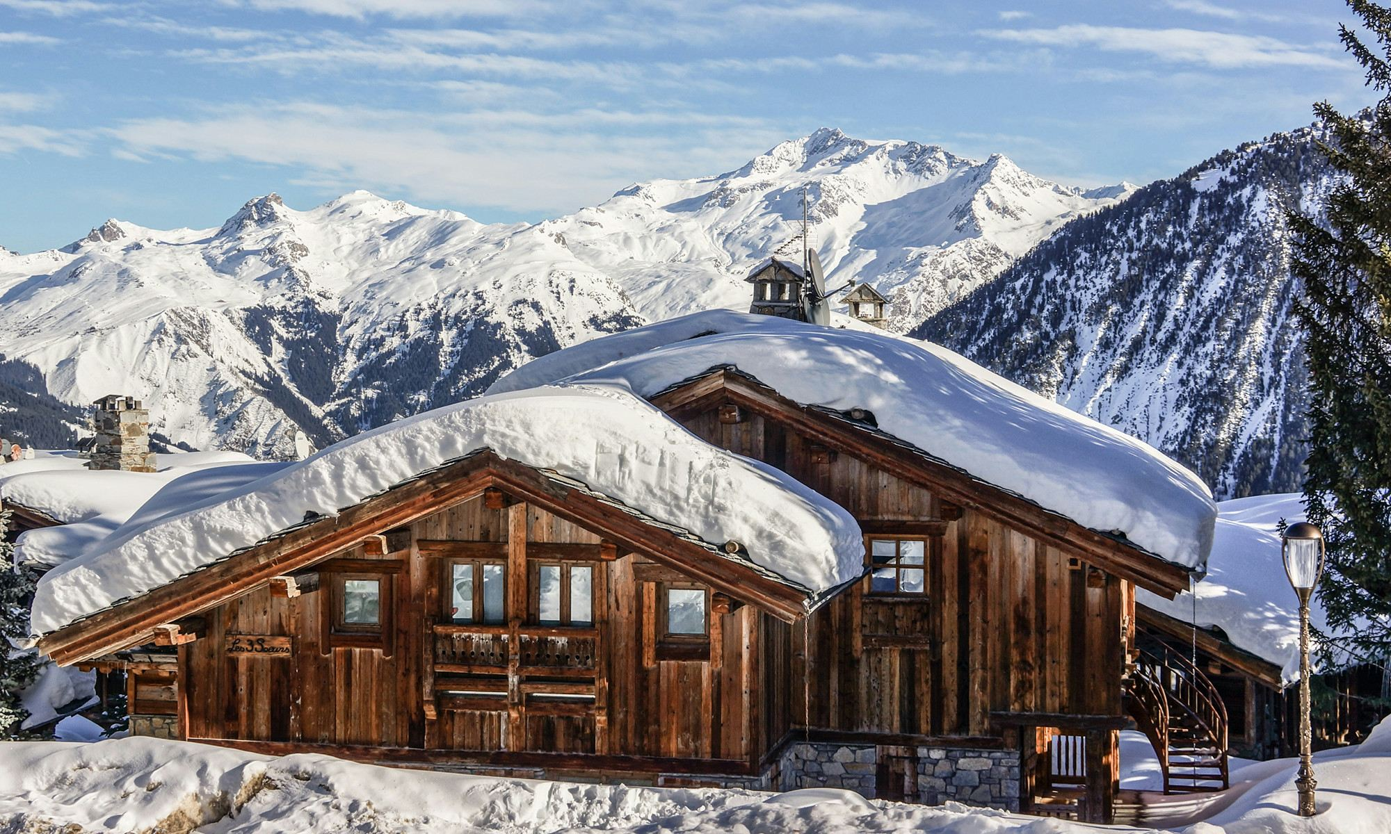 Villa per Affitto alle ore Chalet for rent Courchevel Les 3 Soeurs Courchevel, Rodano-Alpi, 73120 Francia
