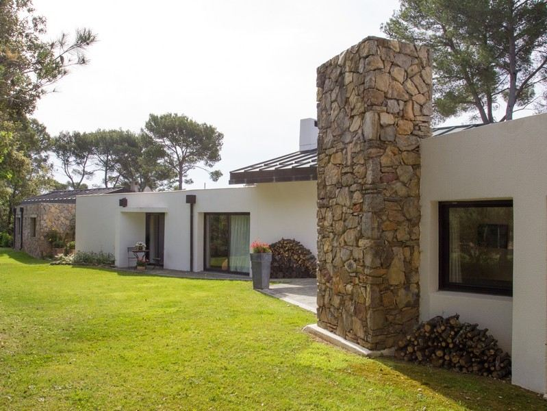 sales property at MODERN VILLA WITH 2 SEPARATE GUEST HOUSES AND POOL ON GOLF COURSE