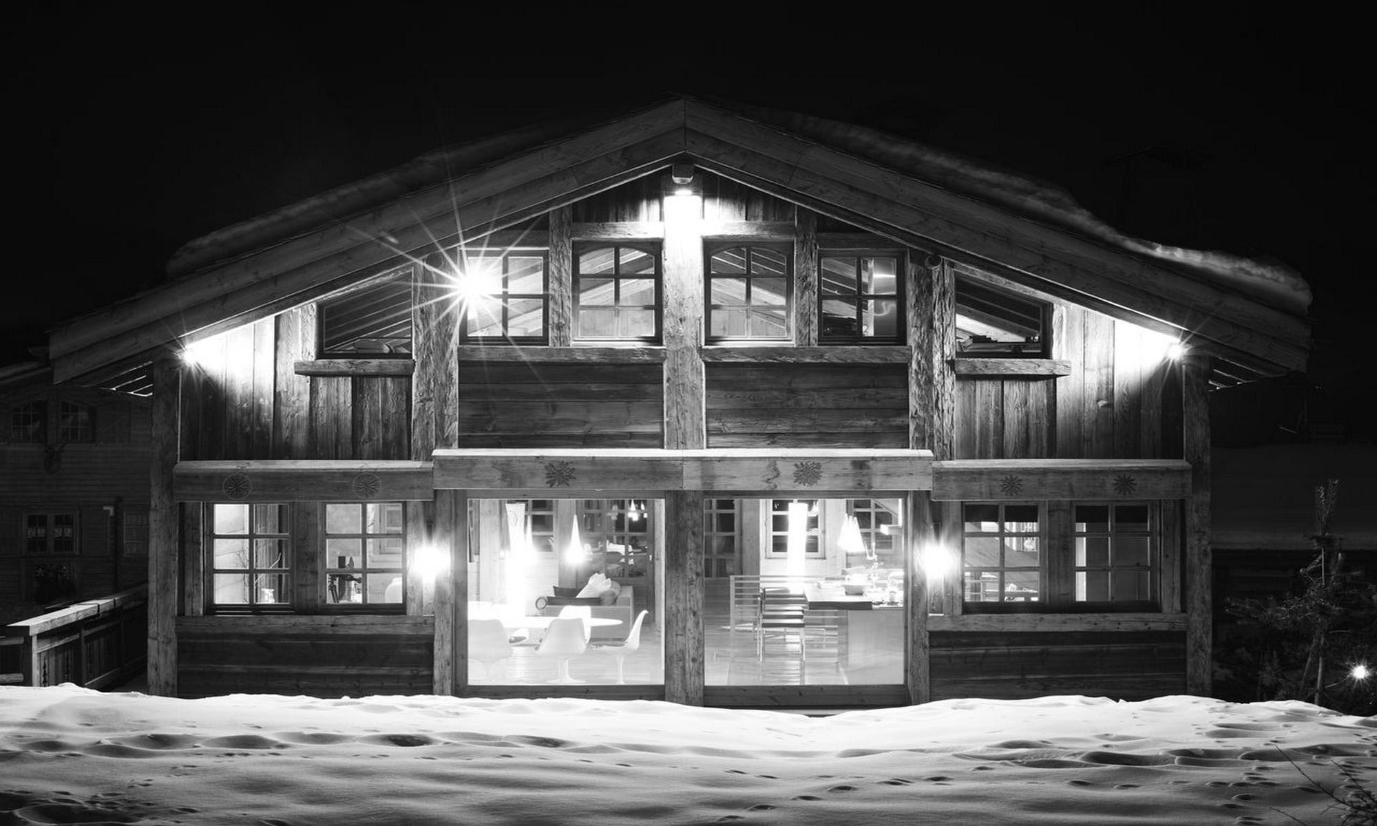 Property For Sale at Mont d'Arbois - Megève Chalet Alpinia