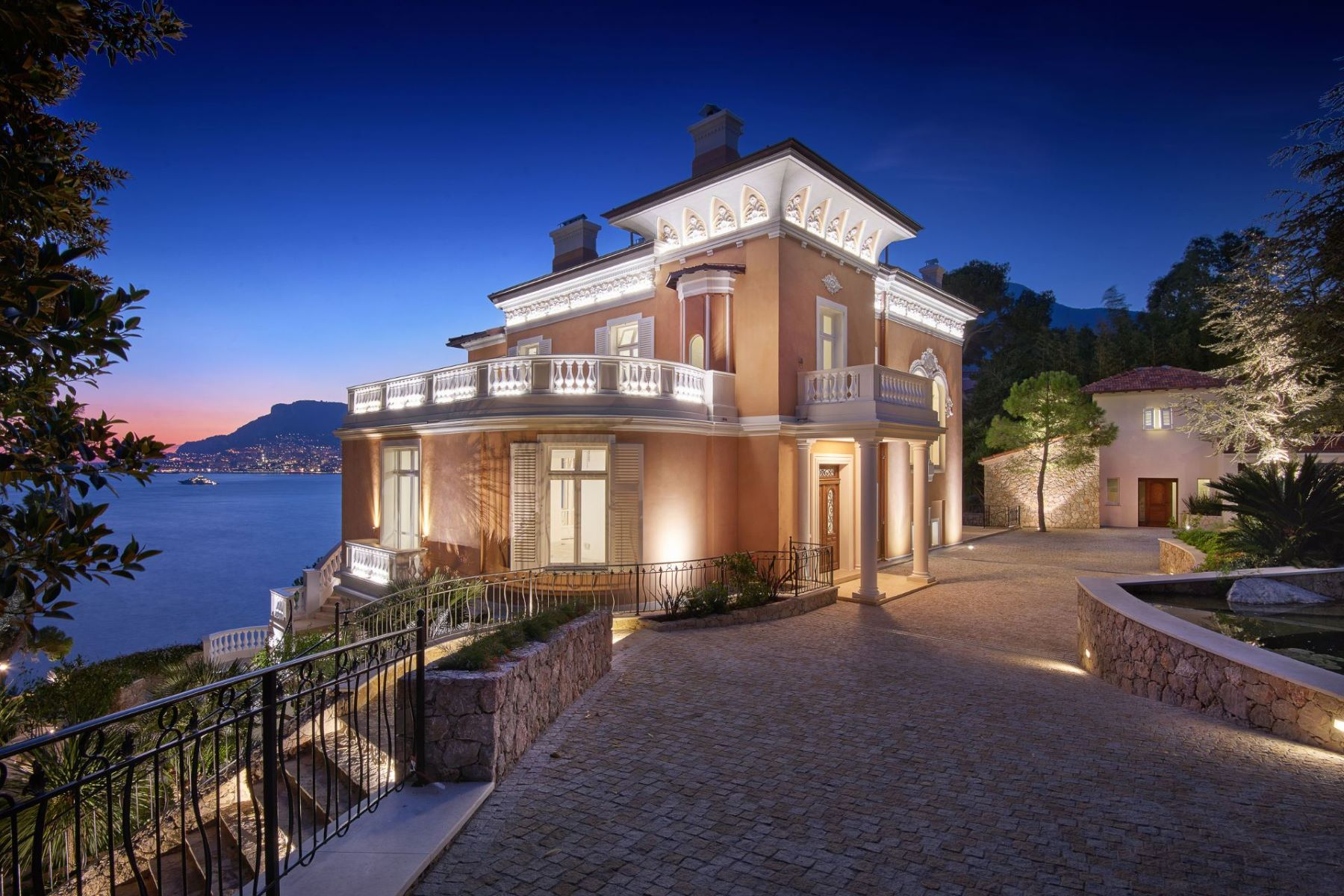 Single Family Home for Active at Sole agent - Outstanding Belle Epoque 'waterfront' mansion Roquebrune Cap Martin, Provence-Alpes-Cote D'Azur 06190 France