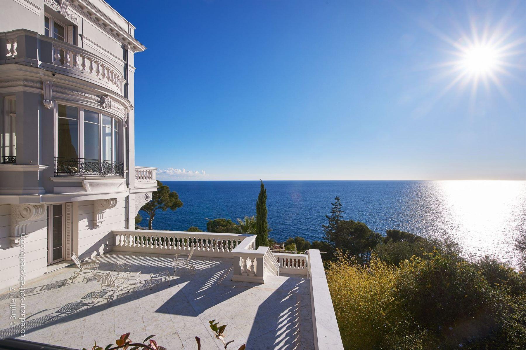 Single Family Home for Sale at Prestigious Belle-Époque mansion Cap D'Ail, Provence-Alpes-Cote D'Azur 06320 France
