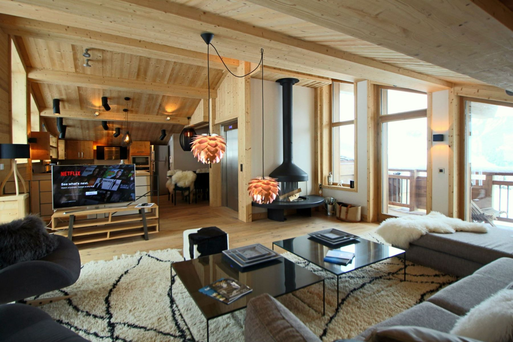 Single Family Home for Sale at Chalet Eiger Courchevel Village Courchevel, Rhone-Alpes, 73120 France
