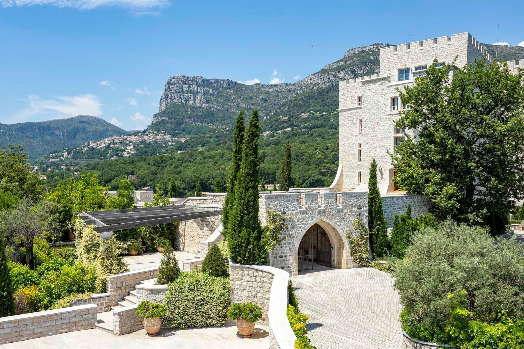 "Additional photo for property listing at Majestic historic ""Château"" situated near Nice - panoramic sea views  Other Provence-Alpes-Cote D'Azur, Provence-Alpes-Cote D'Azur 06640 France"