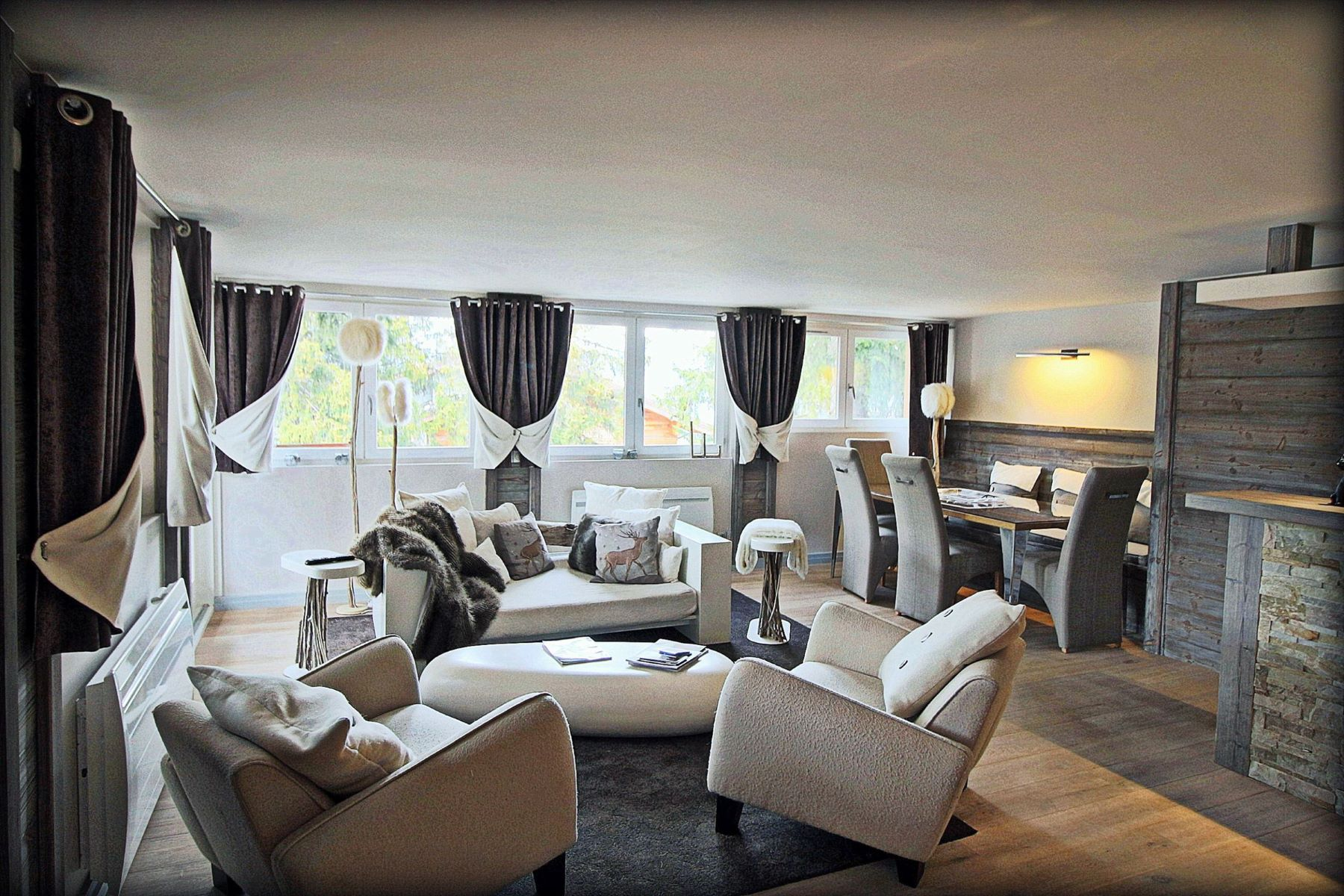 Apartment for Rent at Luxury penthouse Neige Courchevel Courchevel, Rhone-Alpes 73120 France