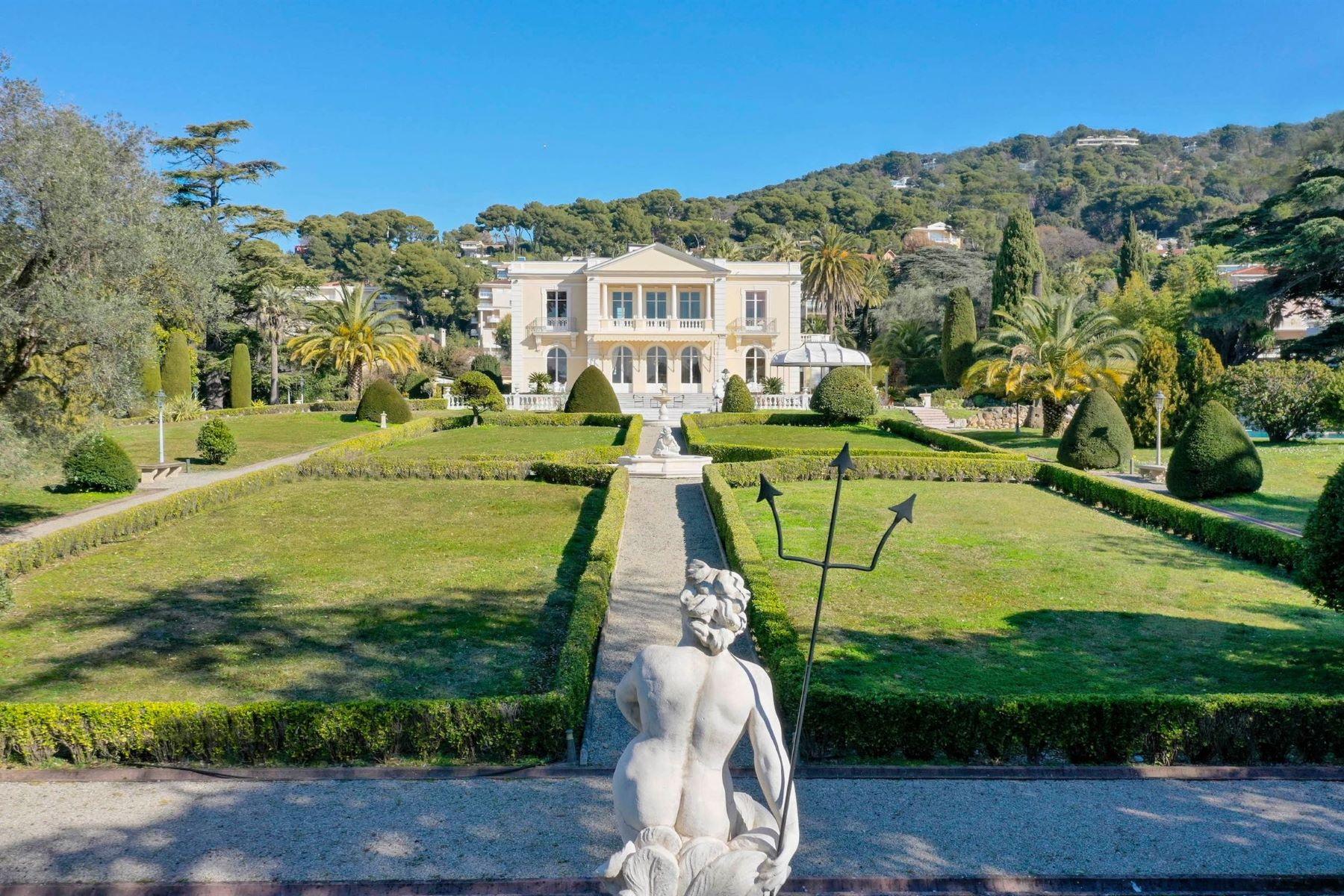 Single Family Homes for Sale at Le Château Sainte-Anne, a unique Belle-Époque mansion in the heart of Cannes Cannes, Provence-Alpes-Cote D'Azur 06400 France