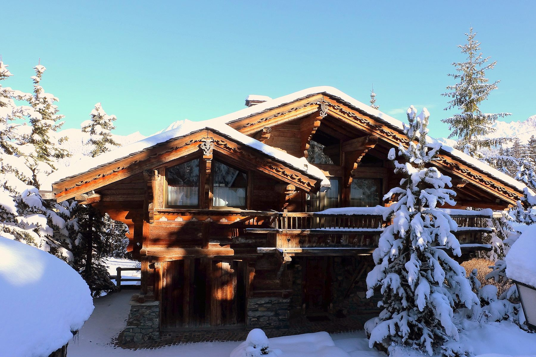 Casa Unifamiliar por un Alquiler en Courchevel Chalet for rent Les Fées Courchevel 1850, Ródano-Alpes, 73120 Francia