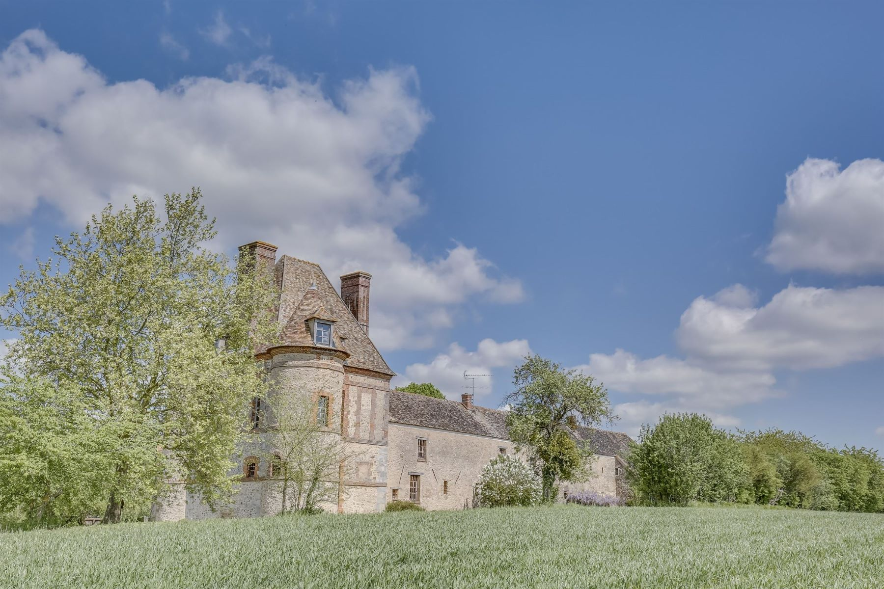 Single Family Homes for Active at Luxury Manor house from the XVth century in Houdan Richebourg, Ile-De-France 78550 France