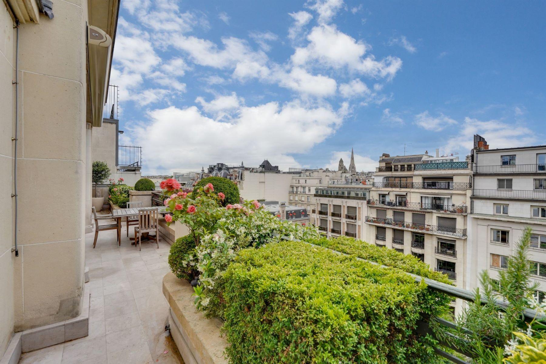 Apartments for Active at Prestigious Penthouse in Paris 8th - Avenue Montaigne Paris, Ile-De-France 75008 France