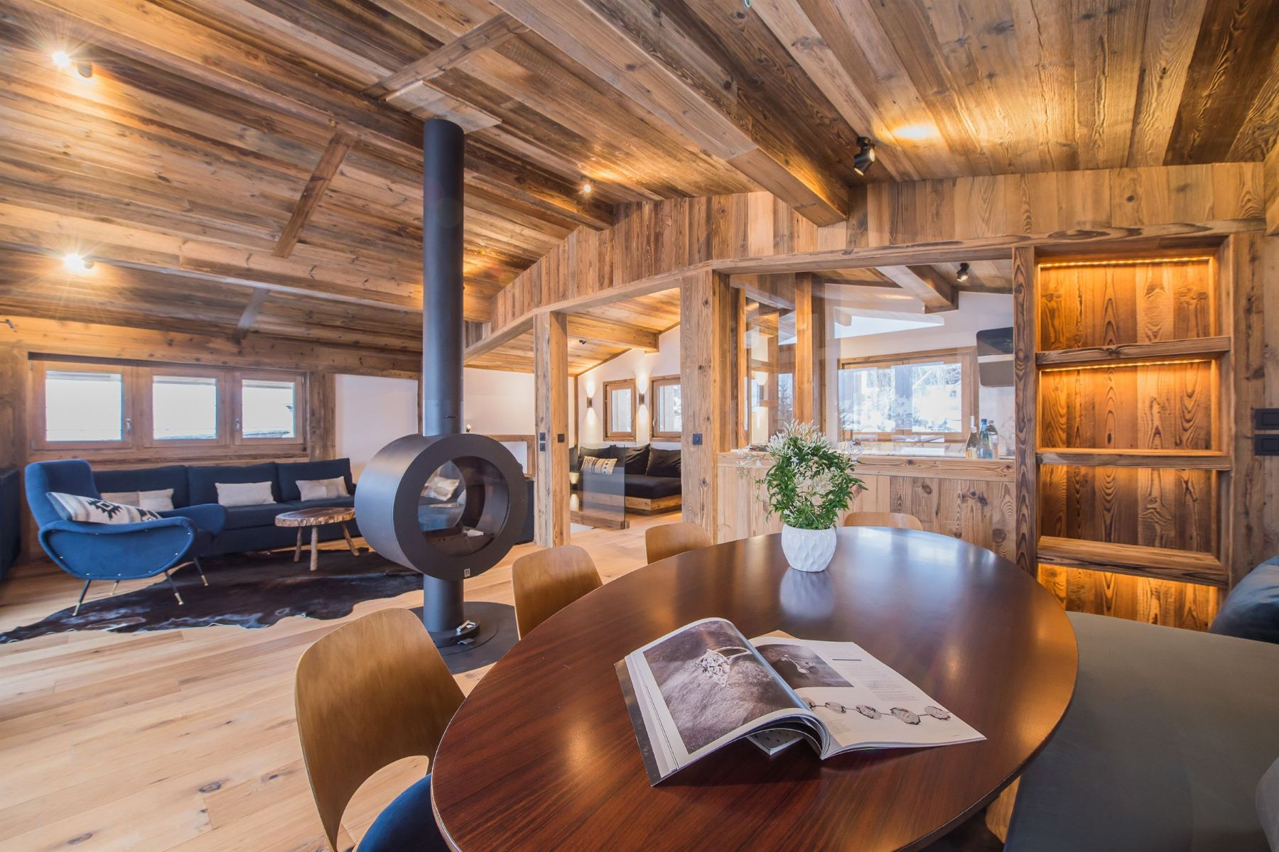 Single Family Homes for Sale at Luxury chalet close to the slopes in Megève - Alpine Megeve, Rhone-Alpes 74120 France