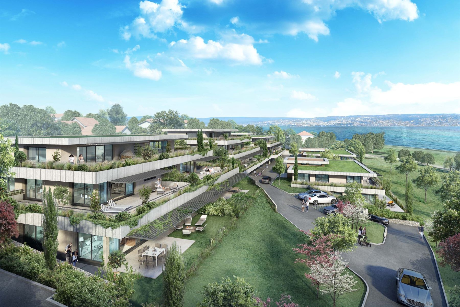 Apartments for Sale at Evian new program Maxilly Sur Leman, Rhone-Alpes 74500 France
