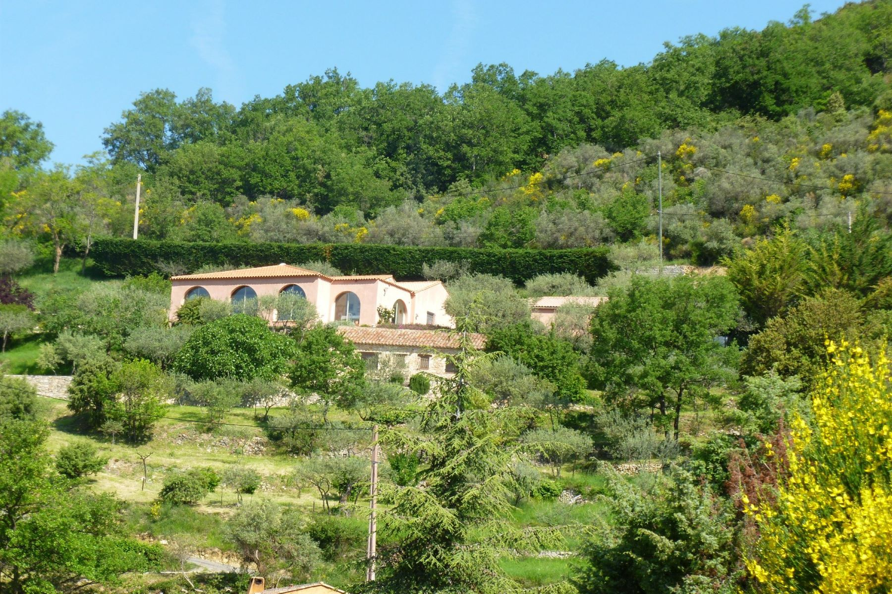 Single Family Homes por un Venta en Villa with studio and pool Chateaudouble, Provincia - Alpes - Costa Azul 83300 Francia