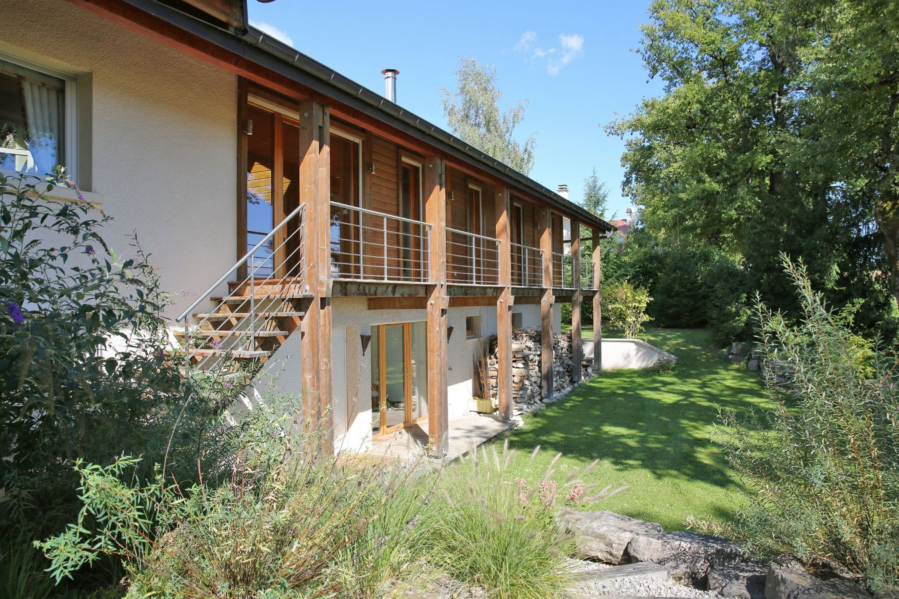Single Family Home for Sale at Large property close to Swiss border Divonne Les Bains, Rhone-Alpes 01220 France