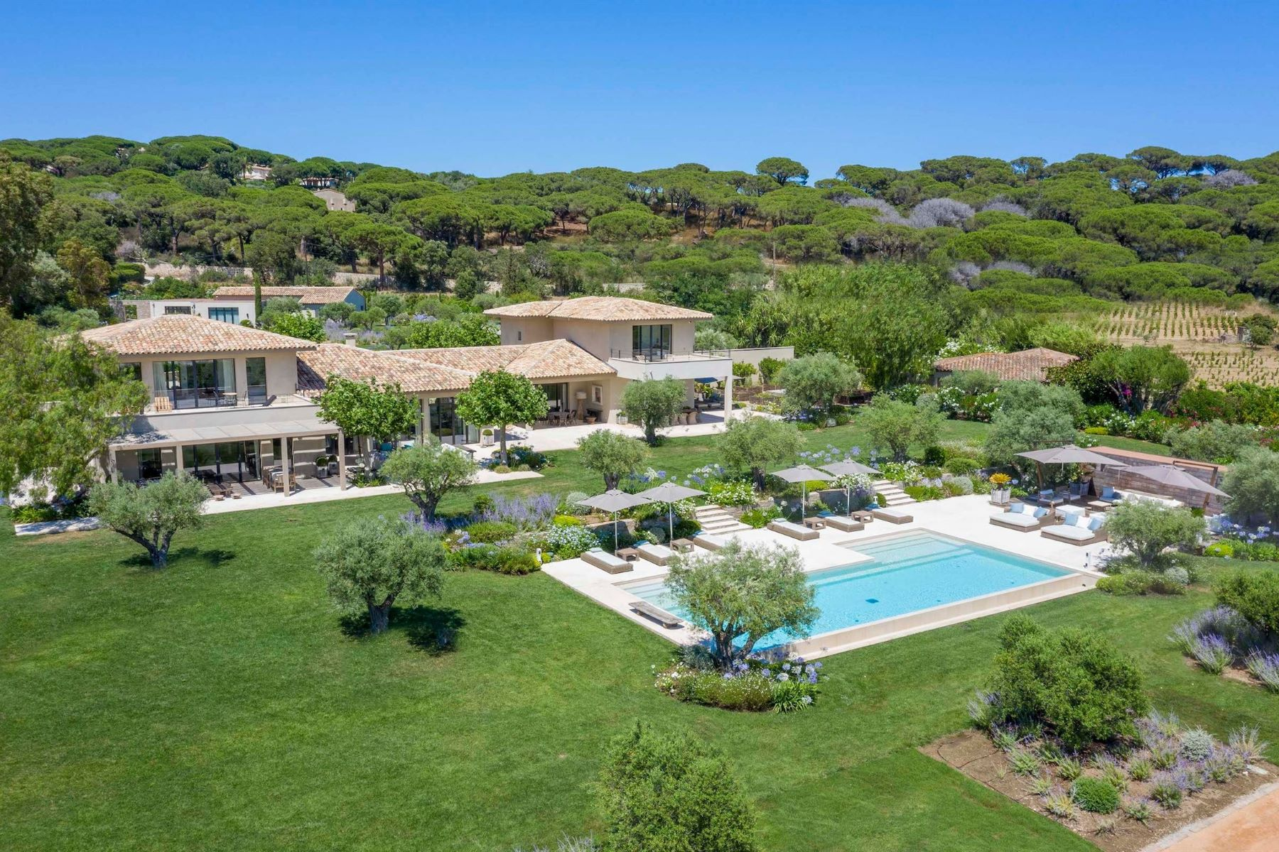 Single Family Homes 為 出售 在 Mas du Figuier : luxury property for sale - Saint-Tropez Saint Tropez, 普羅旺斯阿爾卑斯藍色海岸 83990 法國