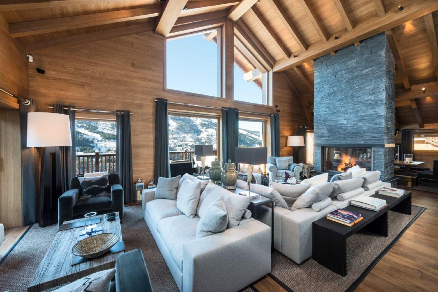 واحد منزل الأسرة للـ Rent في Luxury chalet for rent in Méribel Meribel, Rhone-Alpes, 73550 France