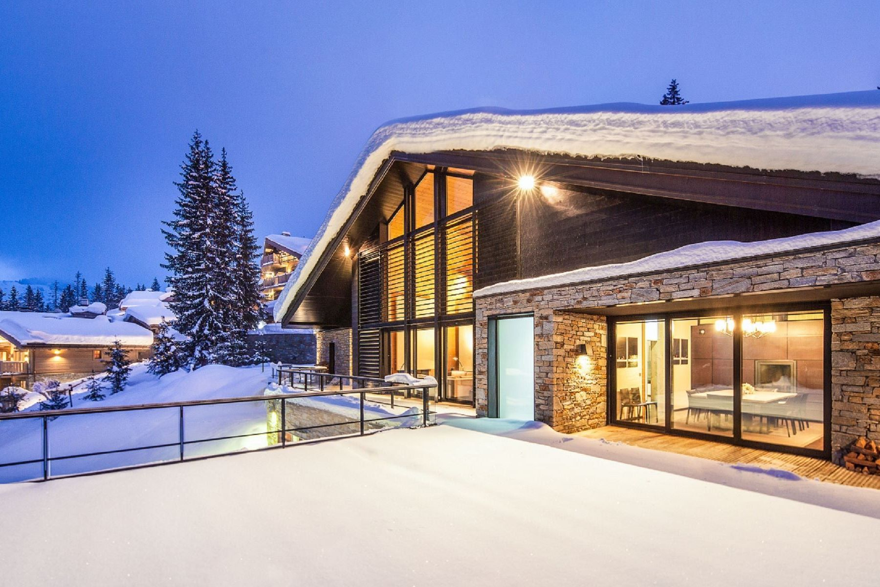 Single Family Home for Rent at Luxury chalet for rent Courchevel Greystone Courchevel, Rhone-Alpes, 73120 France