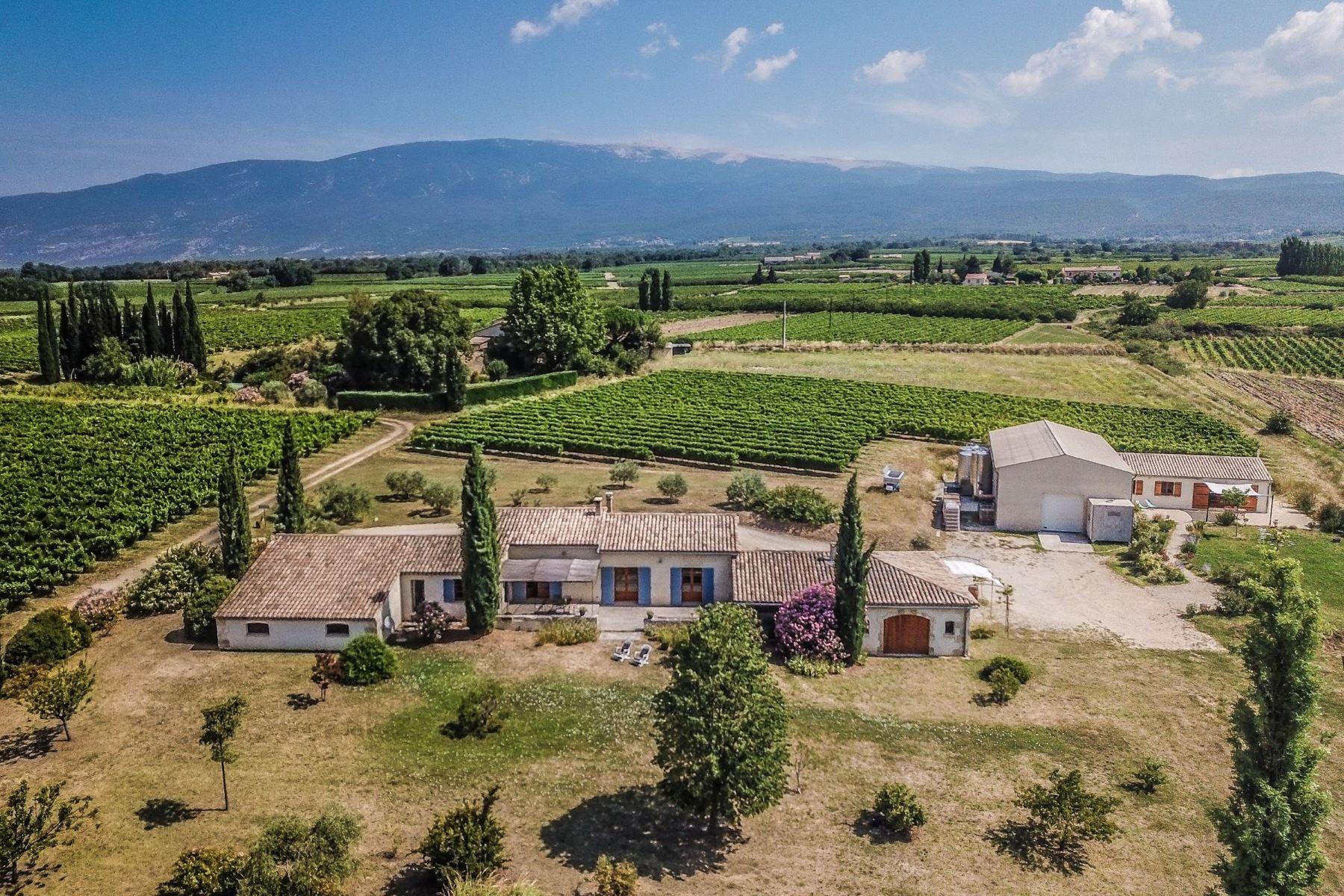Single Family Homes por un Venta en from the city to the vineyard Bedoin, Provincia - Alpes - Costa Azul 84410 Francia