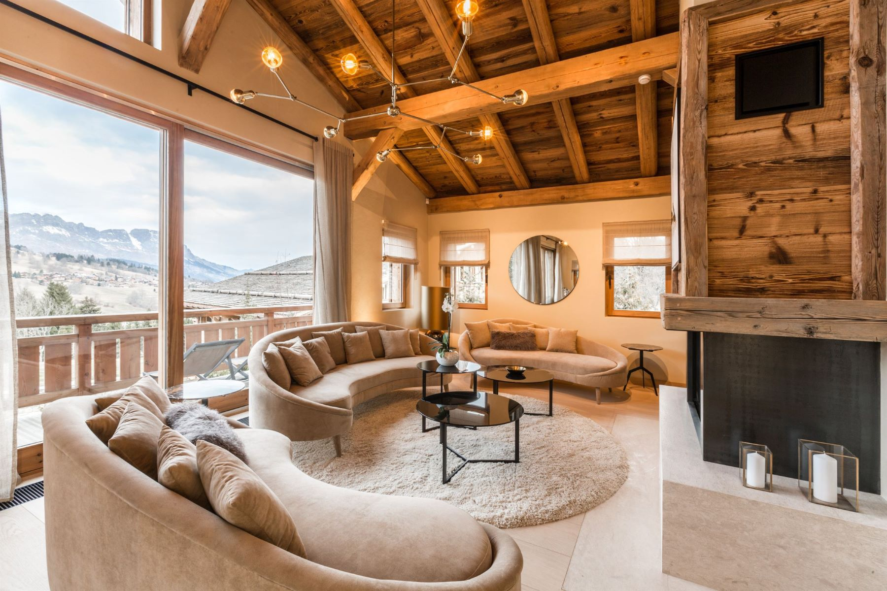 Single Family Homes for Sale at Chalet Gala : beautiful property in the French Alps Megeve, Rhone-Alpes 74120 France