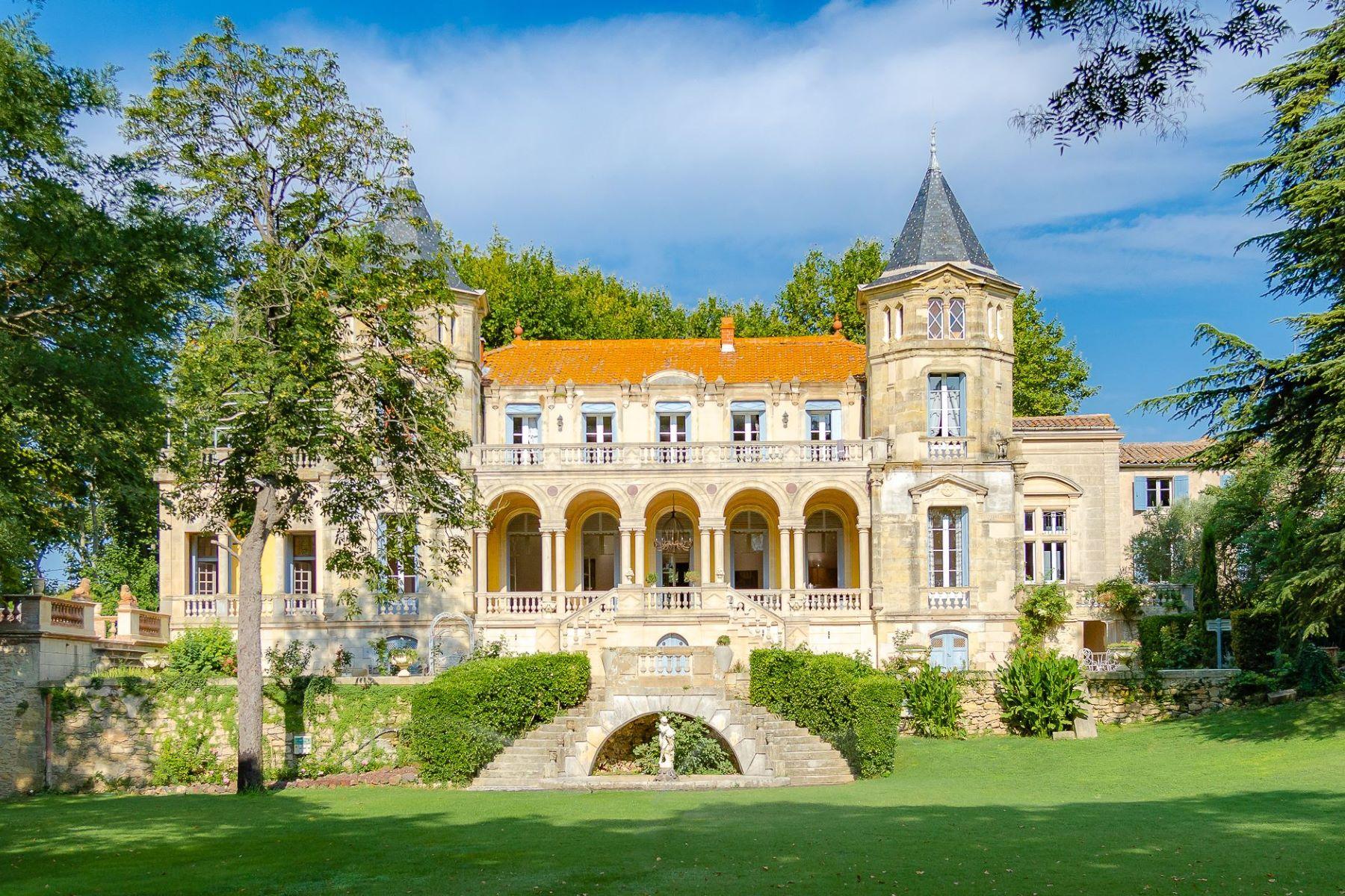 single family homes for Sale at PEZENAS - CHÂTEAU RENAISSANCE ITALIENNE Pezenas, Languedoc-Roussillon 34120 France