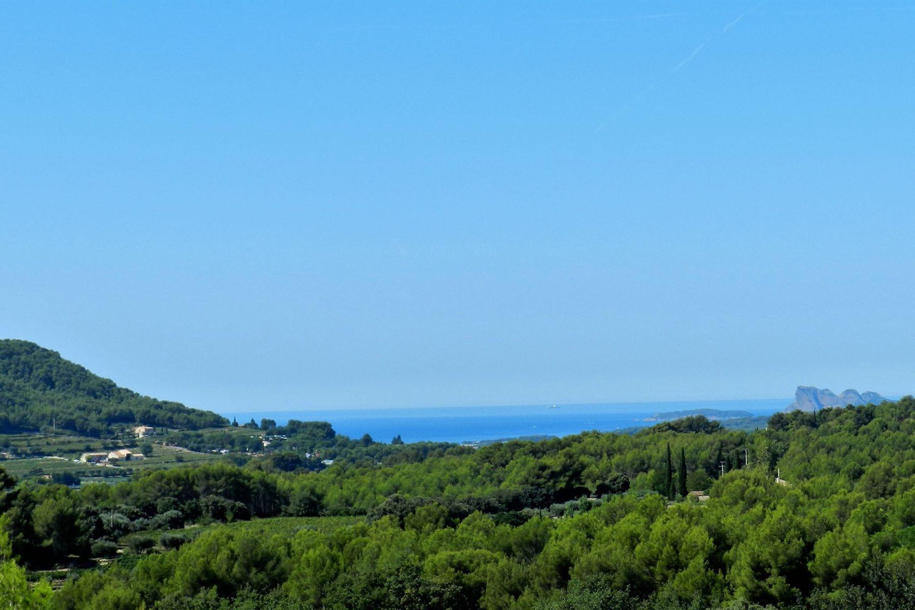 Single Family Homes por un Venta en Sea view La Cadiere D Azur, Provincia - Alpes - Costa Azul 83740 Francia