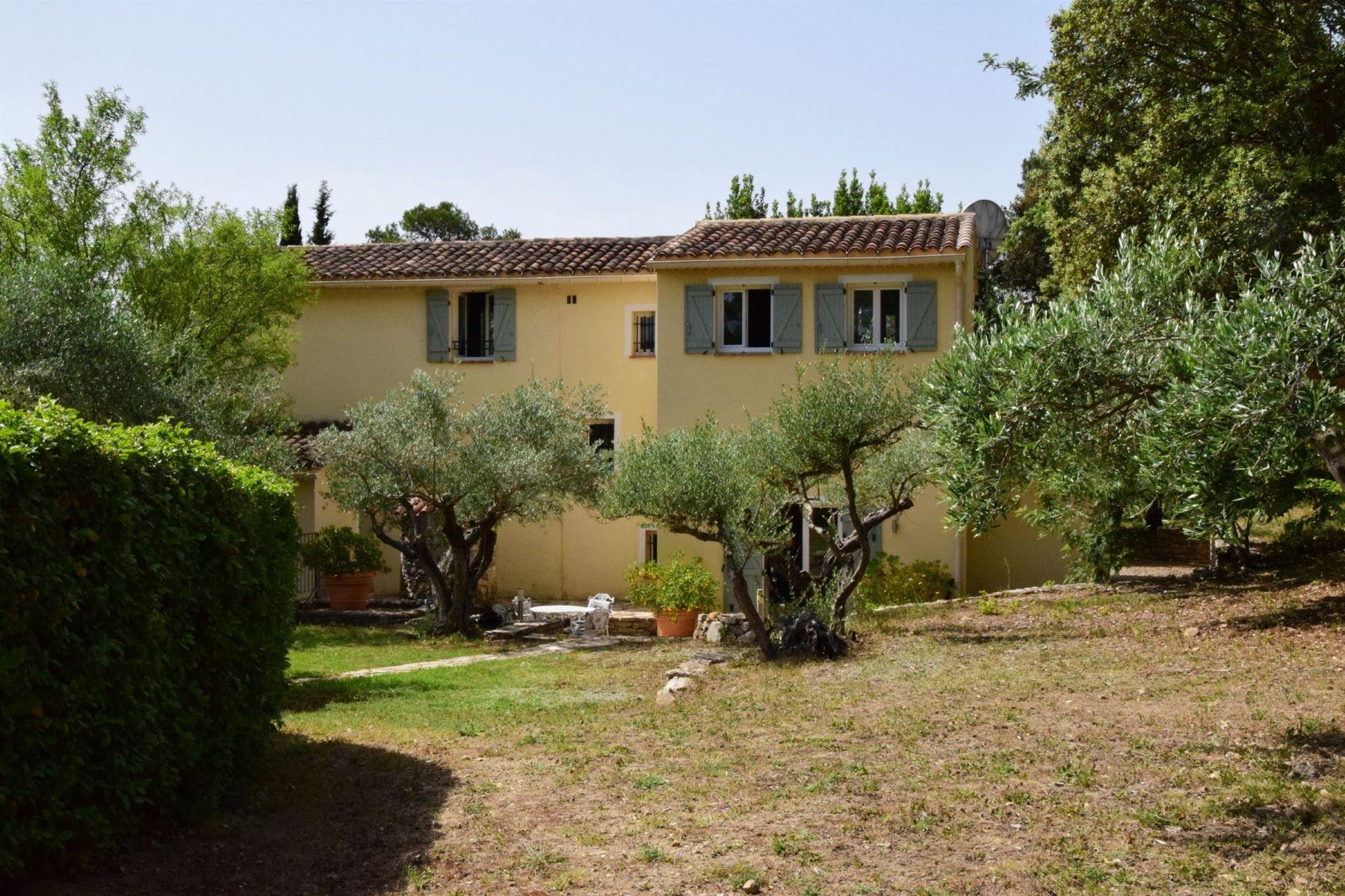 Single Family Homes por un Venta en Provencal villa Lorgues, Provincia - Alpes - Costa Azul 83510 Francia