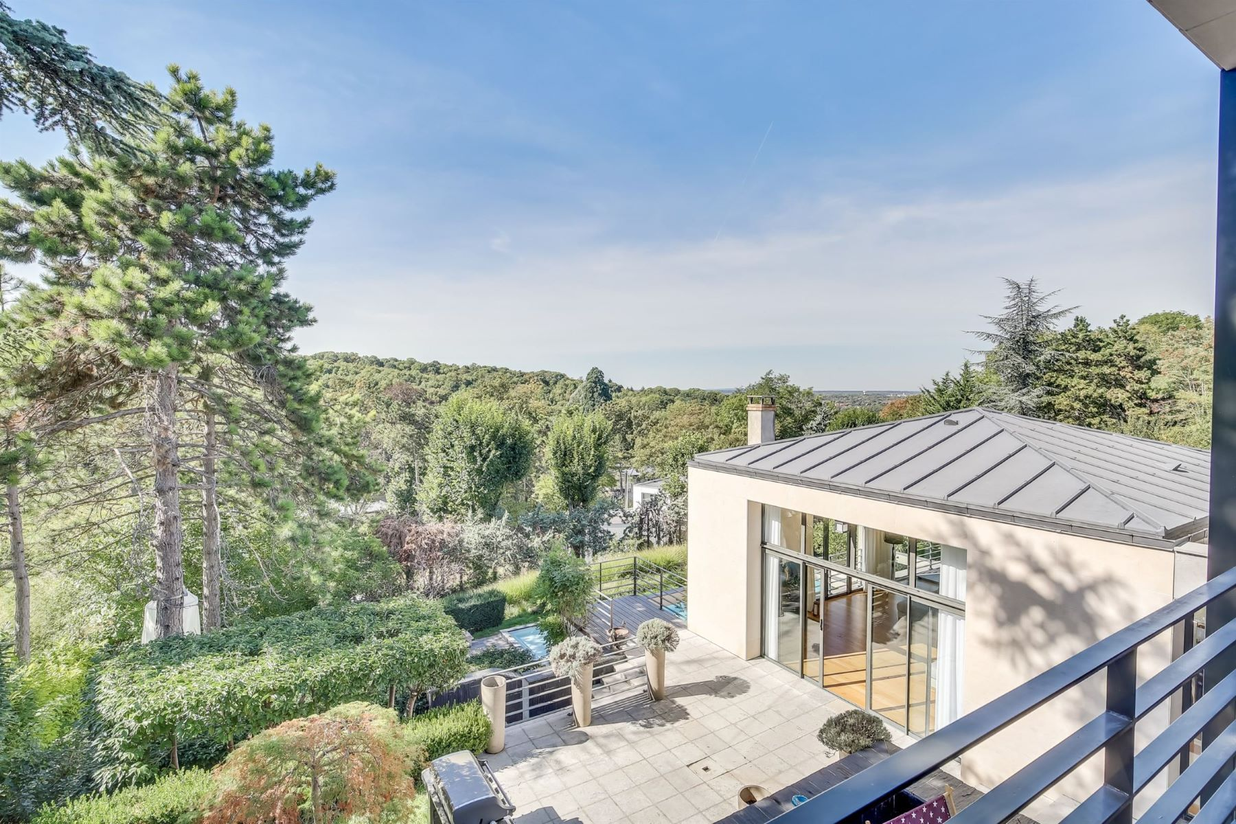 Single Family Homes for Active at Property with exceptional view for sale Rueil-Malmaison city centre Rueil Malmaison, Ile-De-France 92500 France